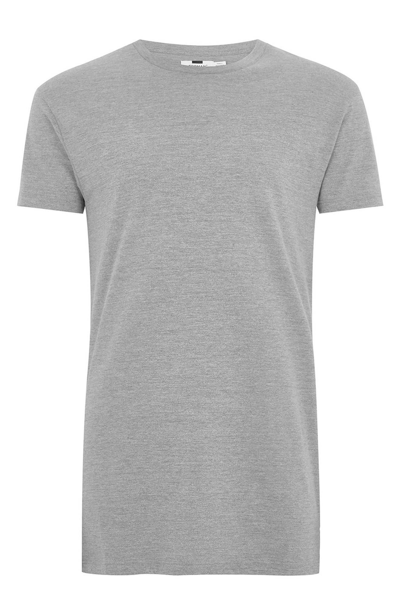 Longline T-Shirt,                             Alternate thumbnail 7, color,