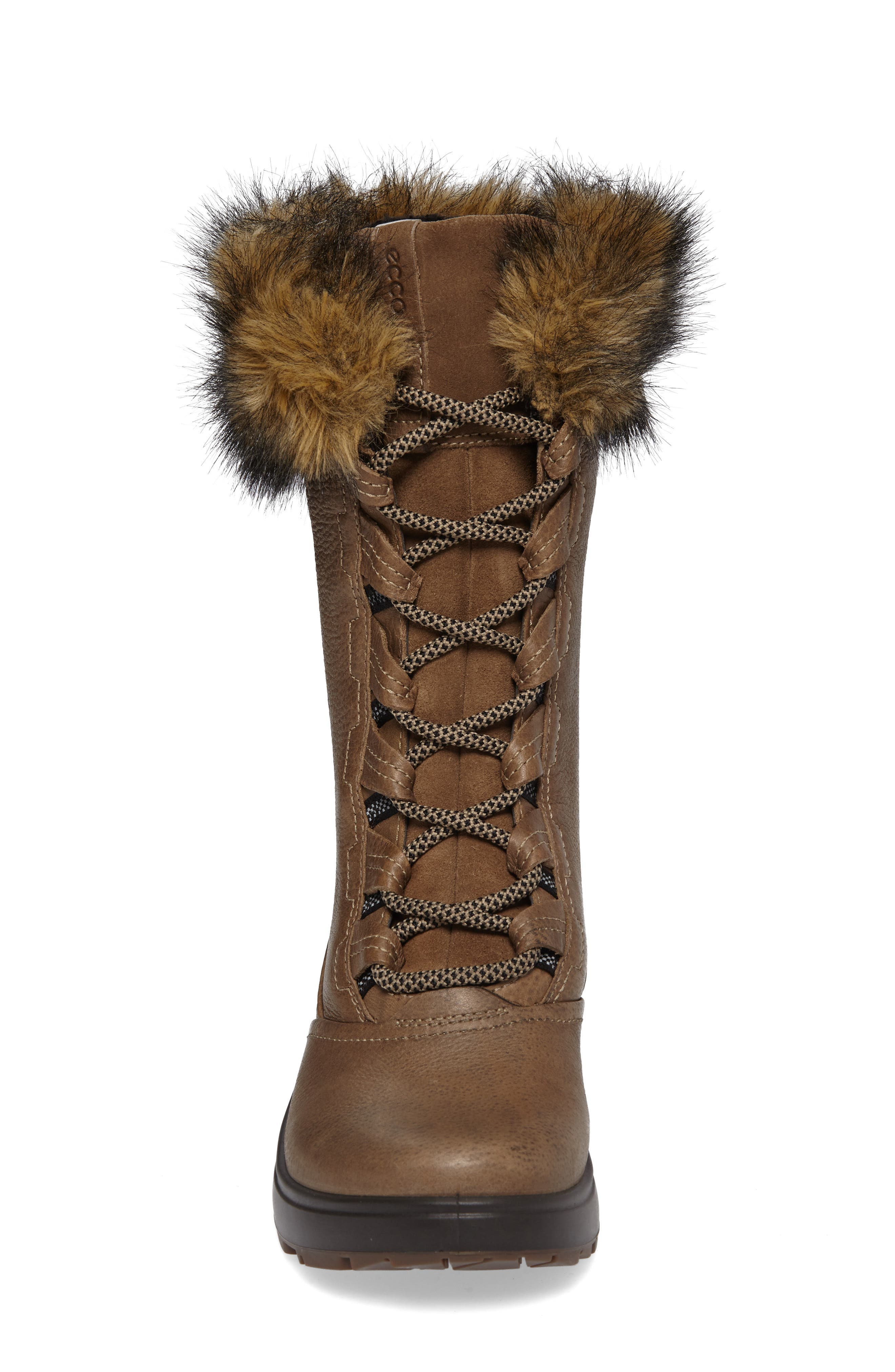 Noyce Siberia Hydromax Water Resistant Winter Boot with Faux Fur Trim,                             Alternate thumbnail 4, color,                             212