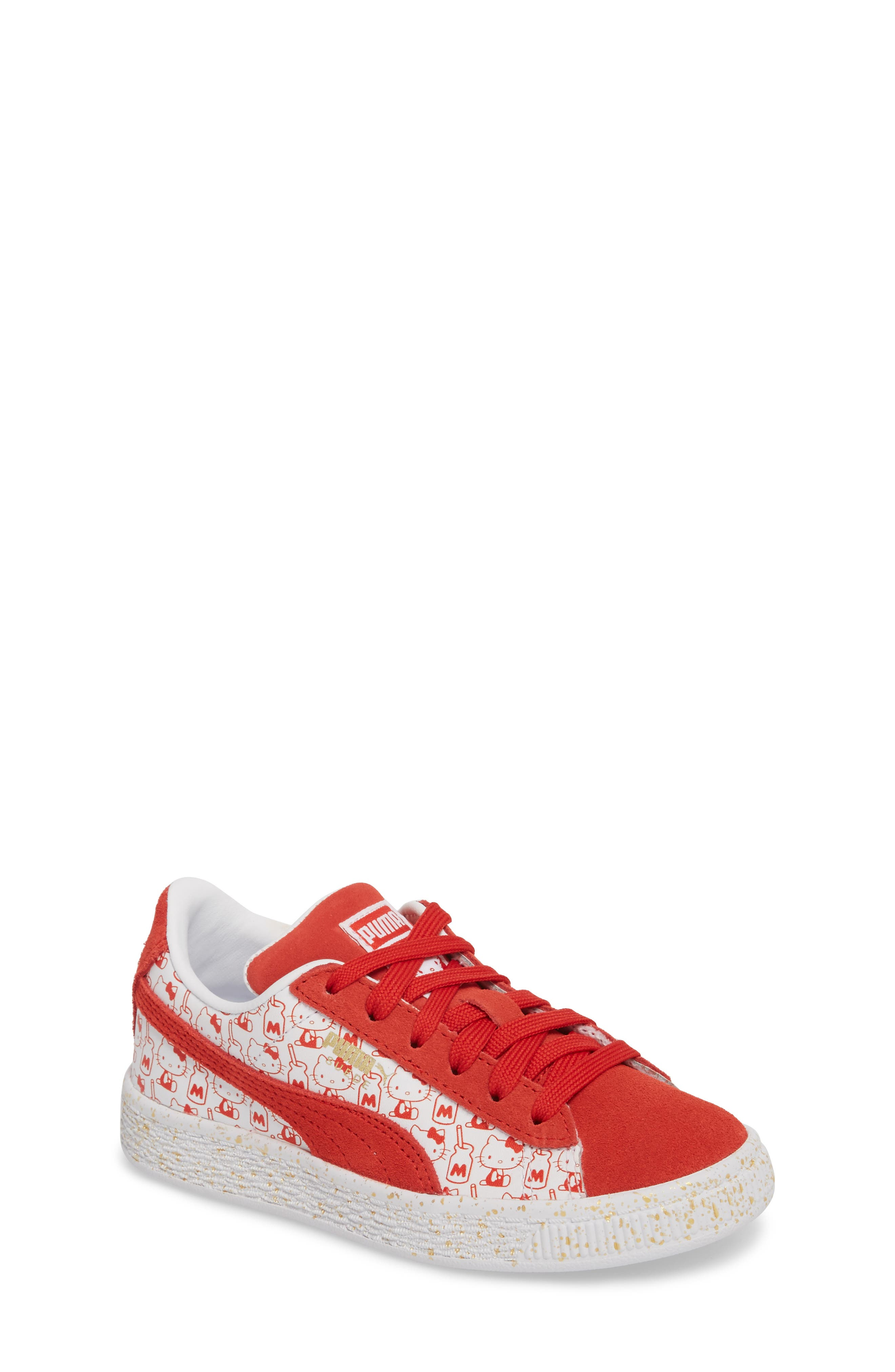 x Hello Kitty Suede Classic Sneaker,                             Main thumbnail 1, color,                             600