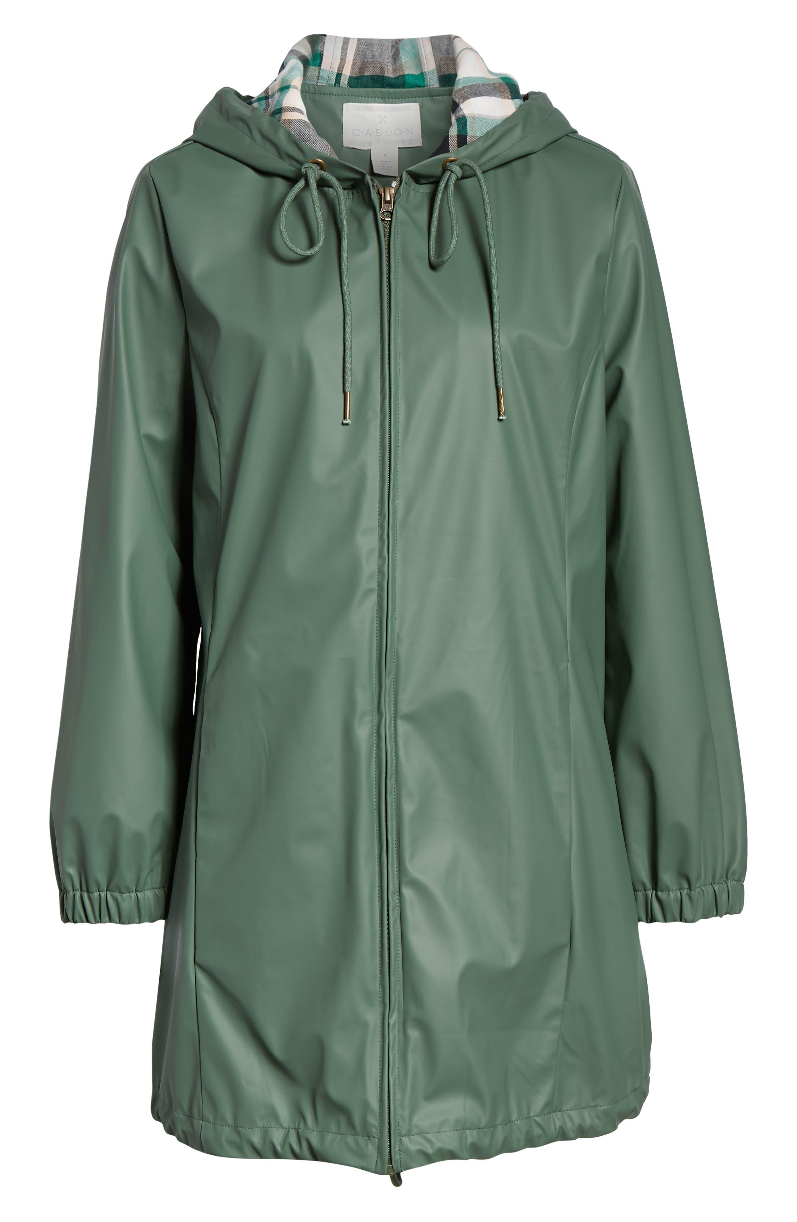 Hooded Rain Jacket,                             Alternate thumbnail 6, color,                             310