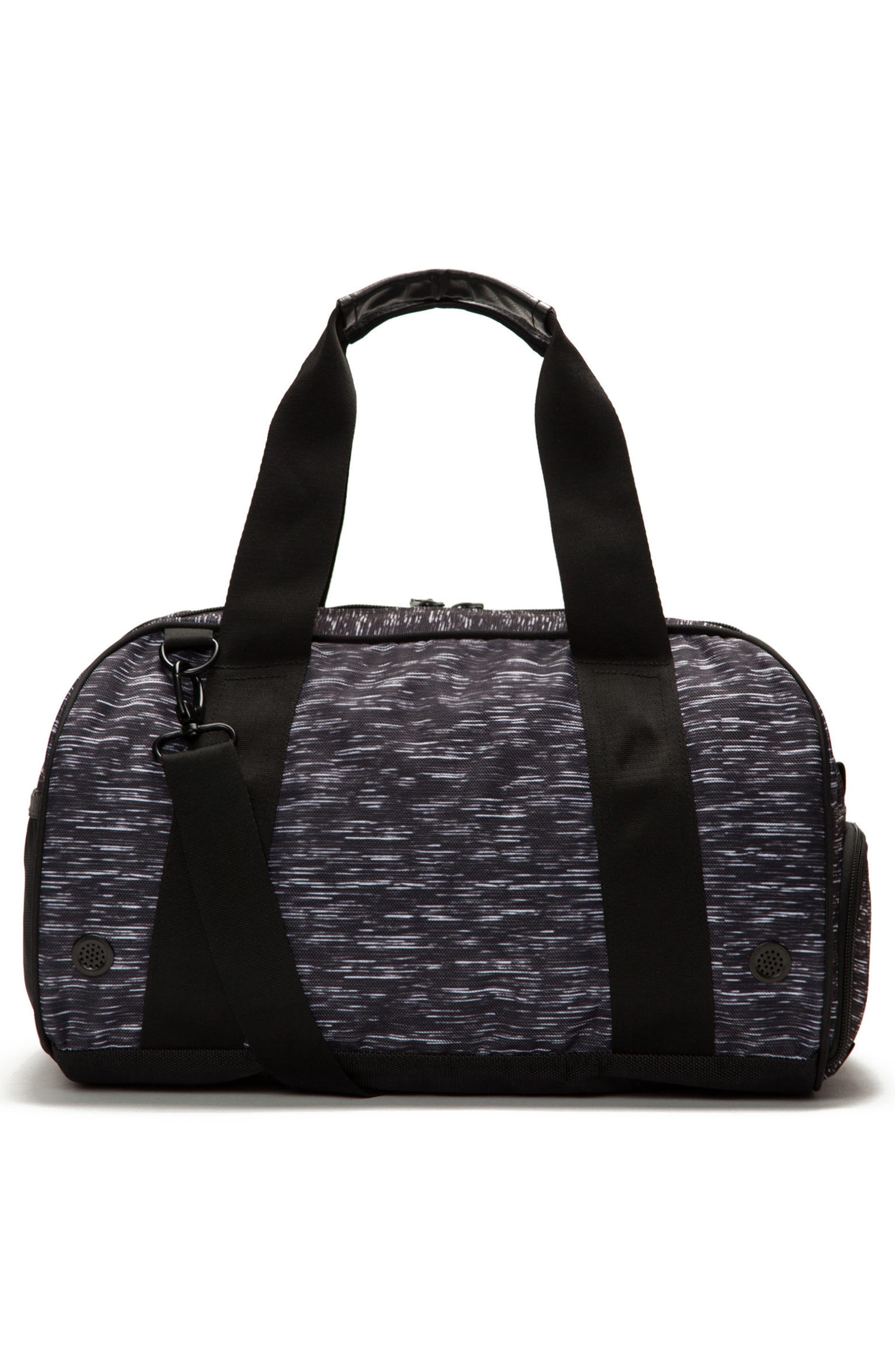 Burner Gym Bag,                             Alternate thumbnail 2, color,                             ATHLETIC BLACK