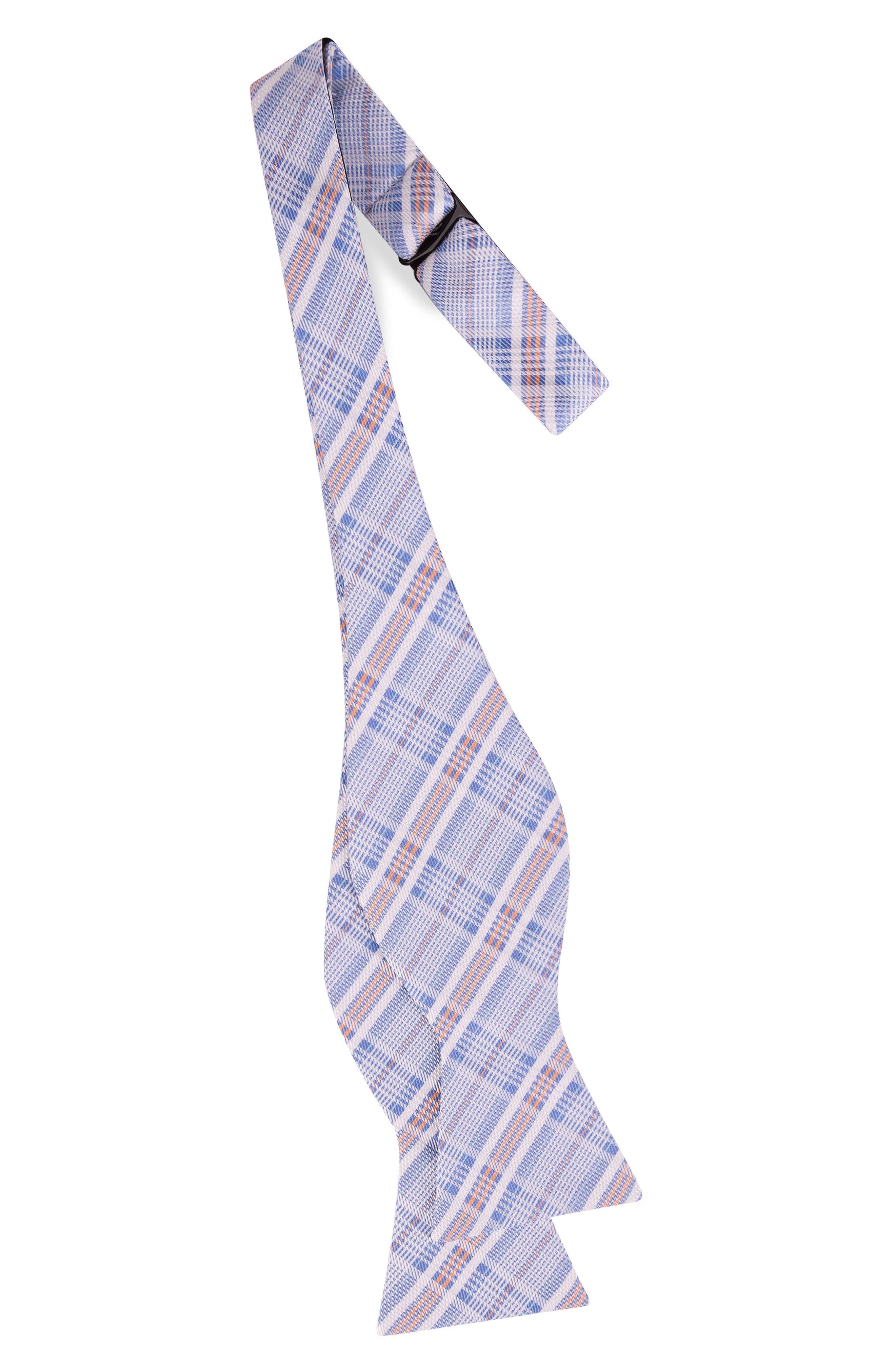 Subtle Check Bow Tie,                             Alternate thumbnail 2, color,                             400
