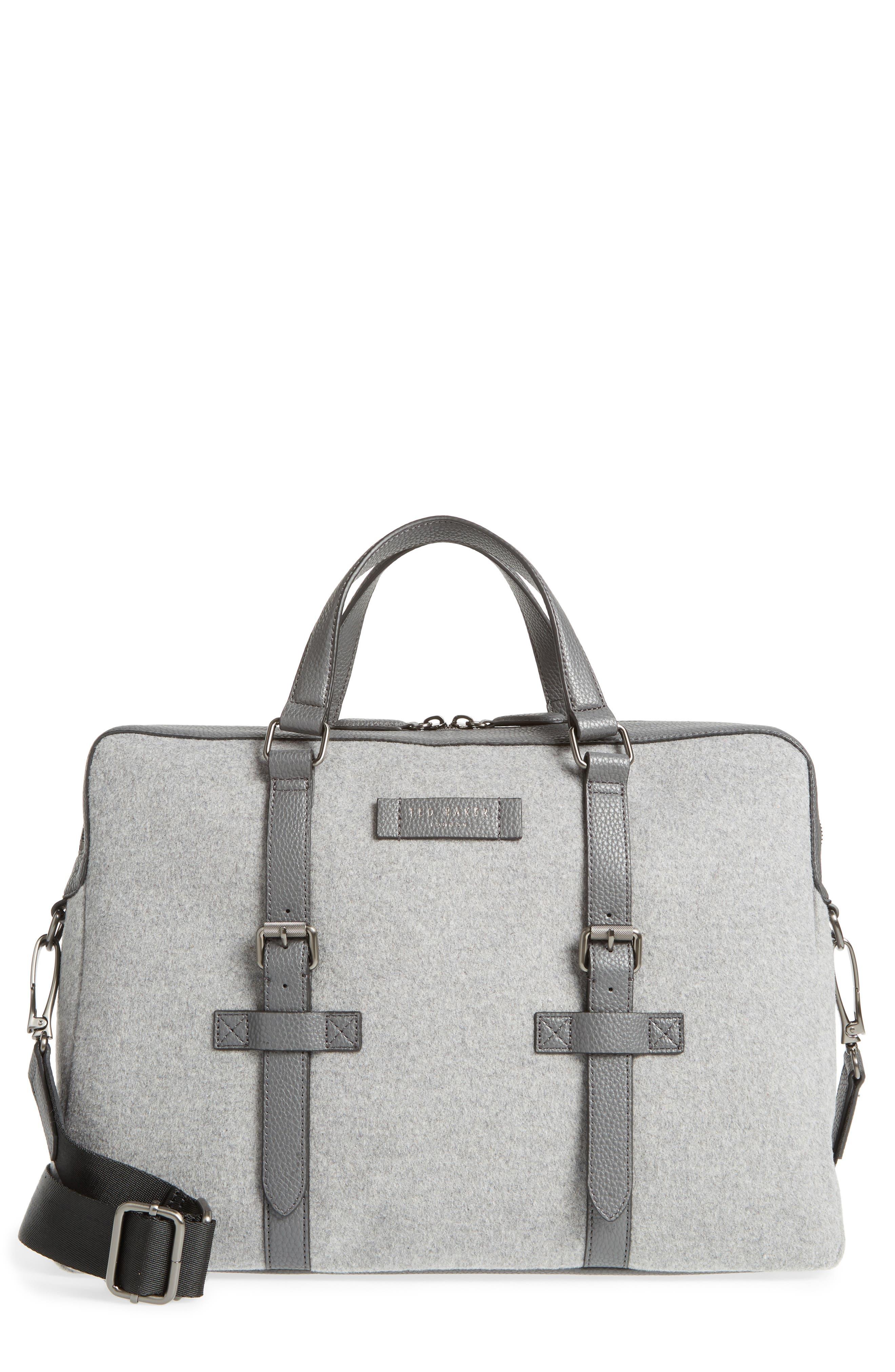 Cabble Briefcase,                         Main,                         color, GREY