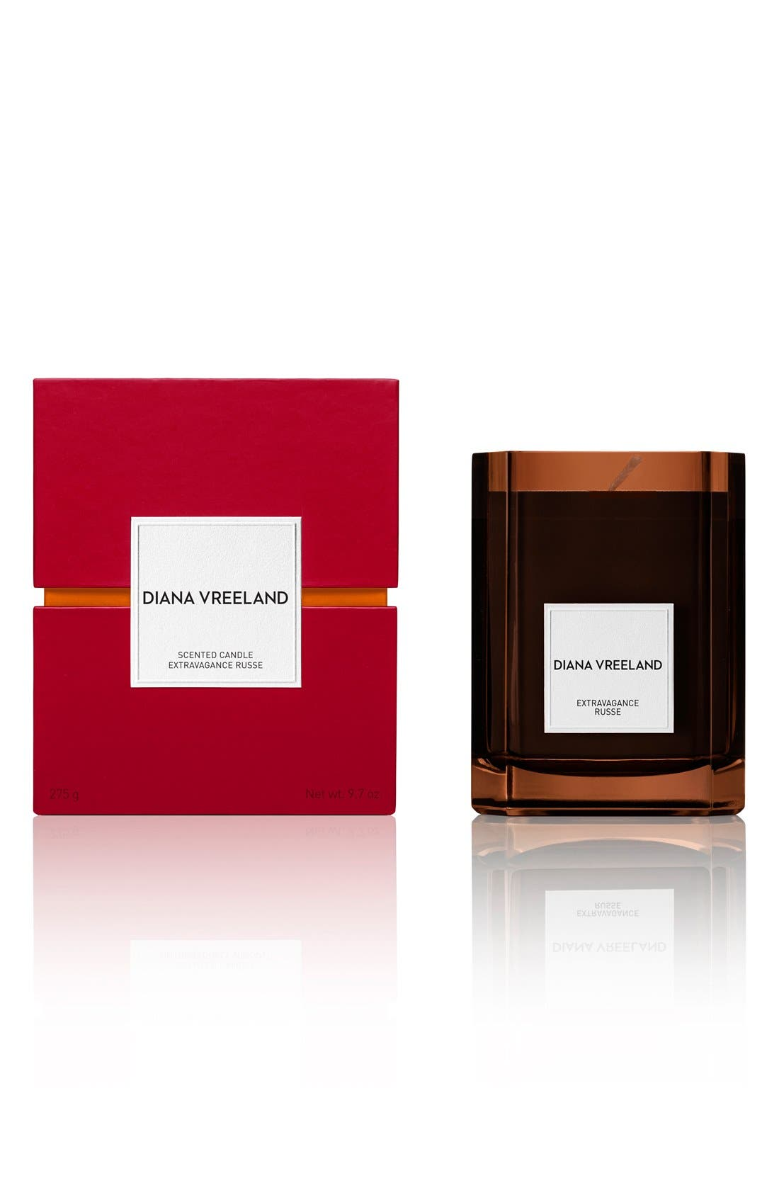 DIANA VREELAND,                             'Extravagance Russe' Candle,                             Alternate thumbnail 2, color,                             000