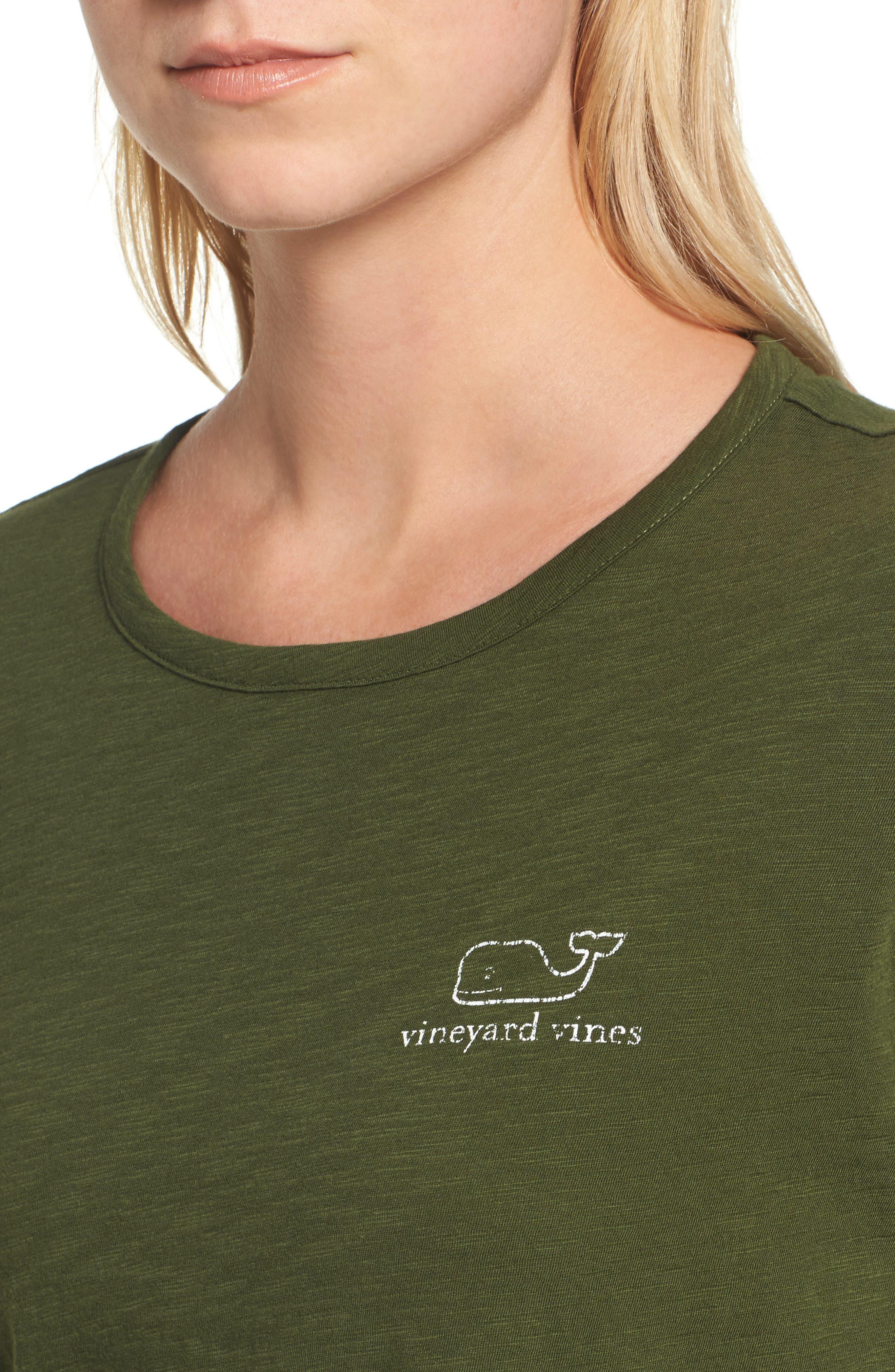 Long Sleeve Logo Tee,                             Alternate thumbnail 4, color,                             321
