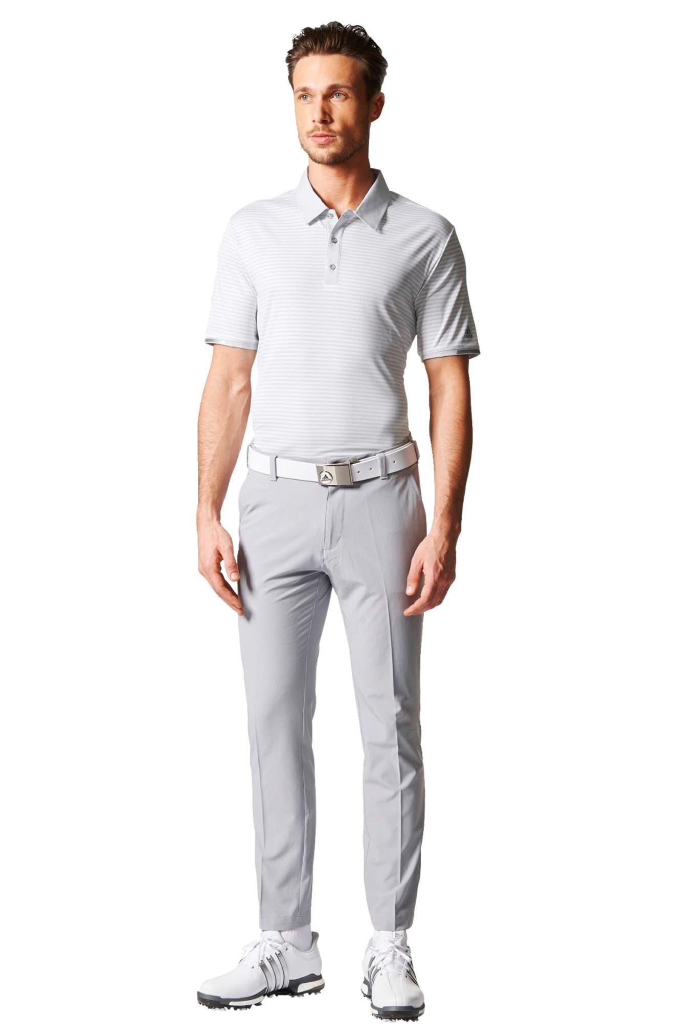 climachill<sup>®</sup> Stripe Golf Polo,                             Alternate thumbnail 7, color,                             065