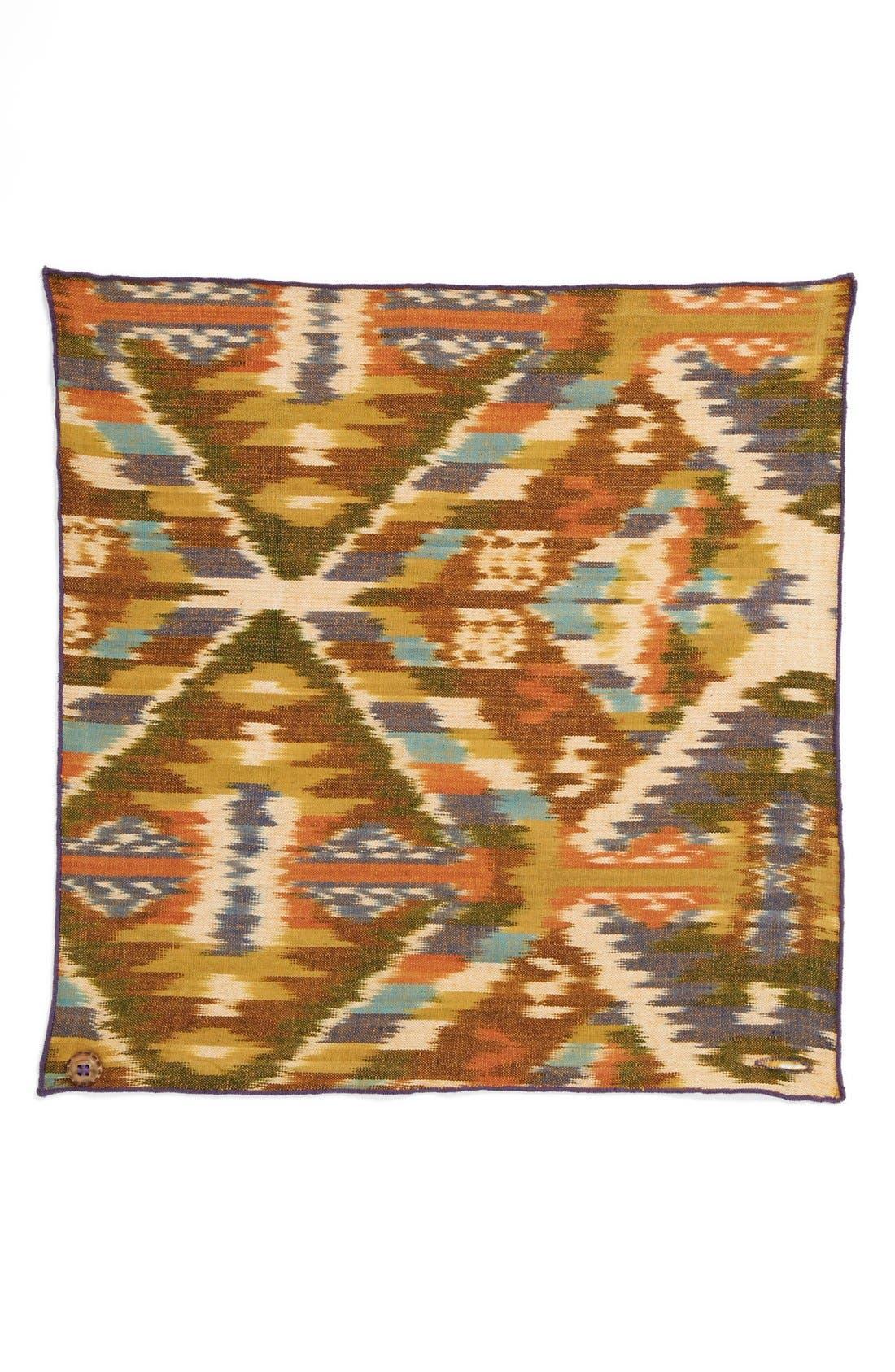 Cotton Pocket Square,                             Alternate thumbnail 2, color,                             500