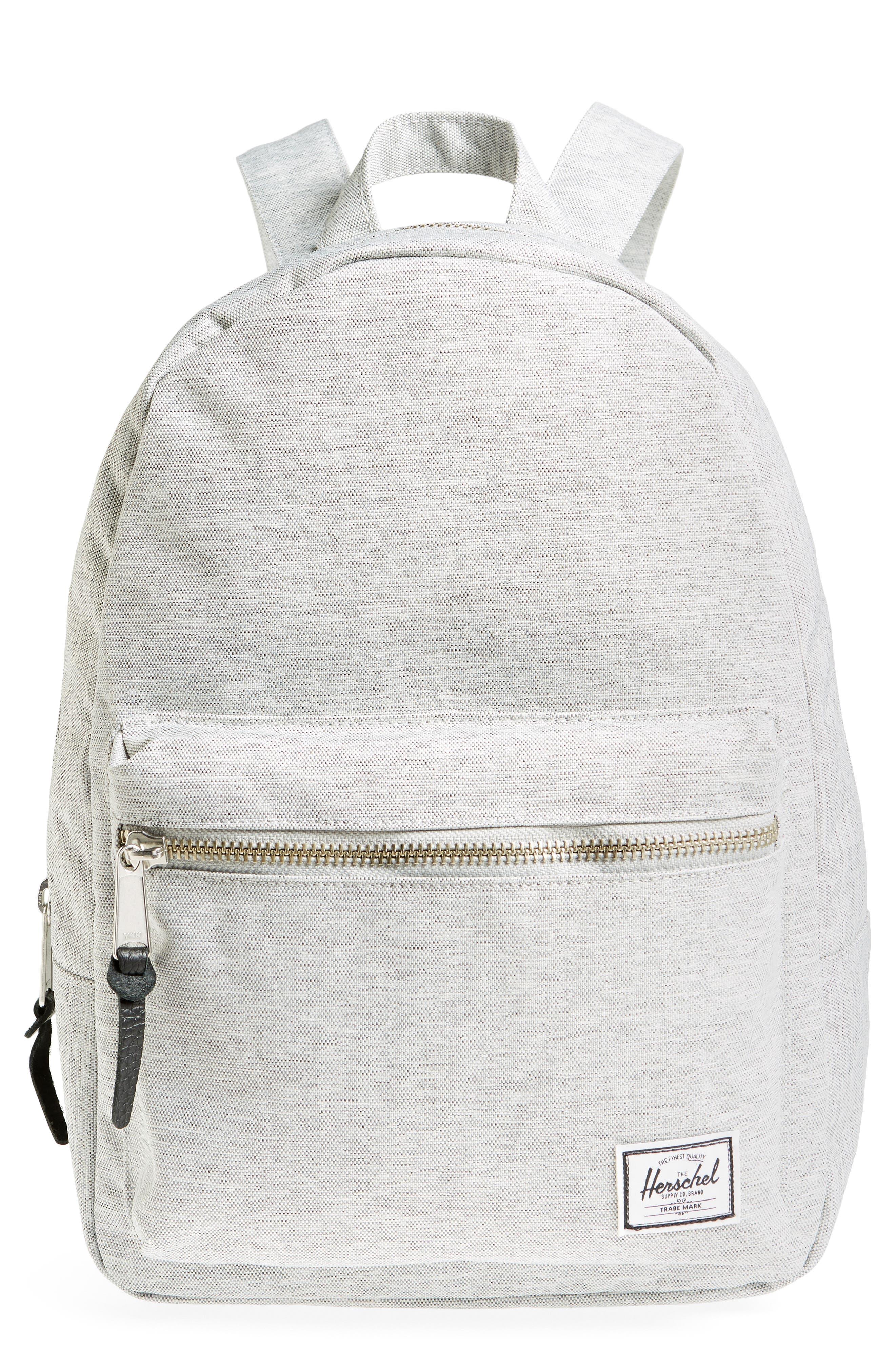 Grove Backpack,                         Main,                         color, LIGHT GREY CROSSHATCH