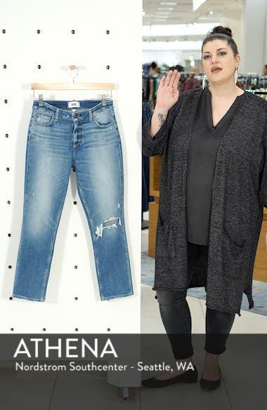 Brigitte Ripped Crop Boyfriend Jeans, sales video thumbnail