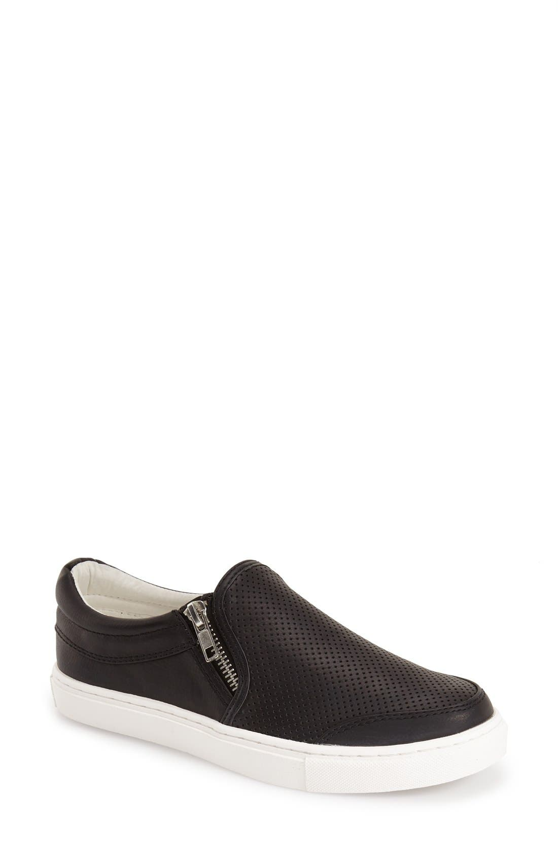 'Ellias' Slip-On Sneaker, Main, color, 001