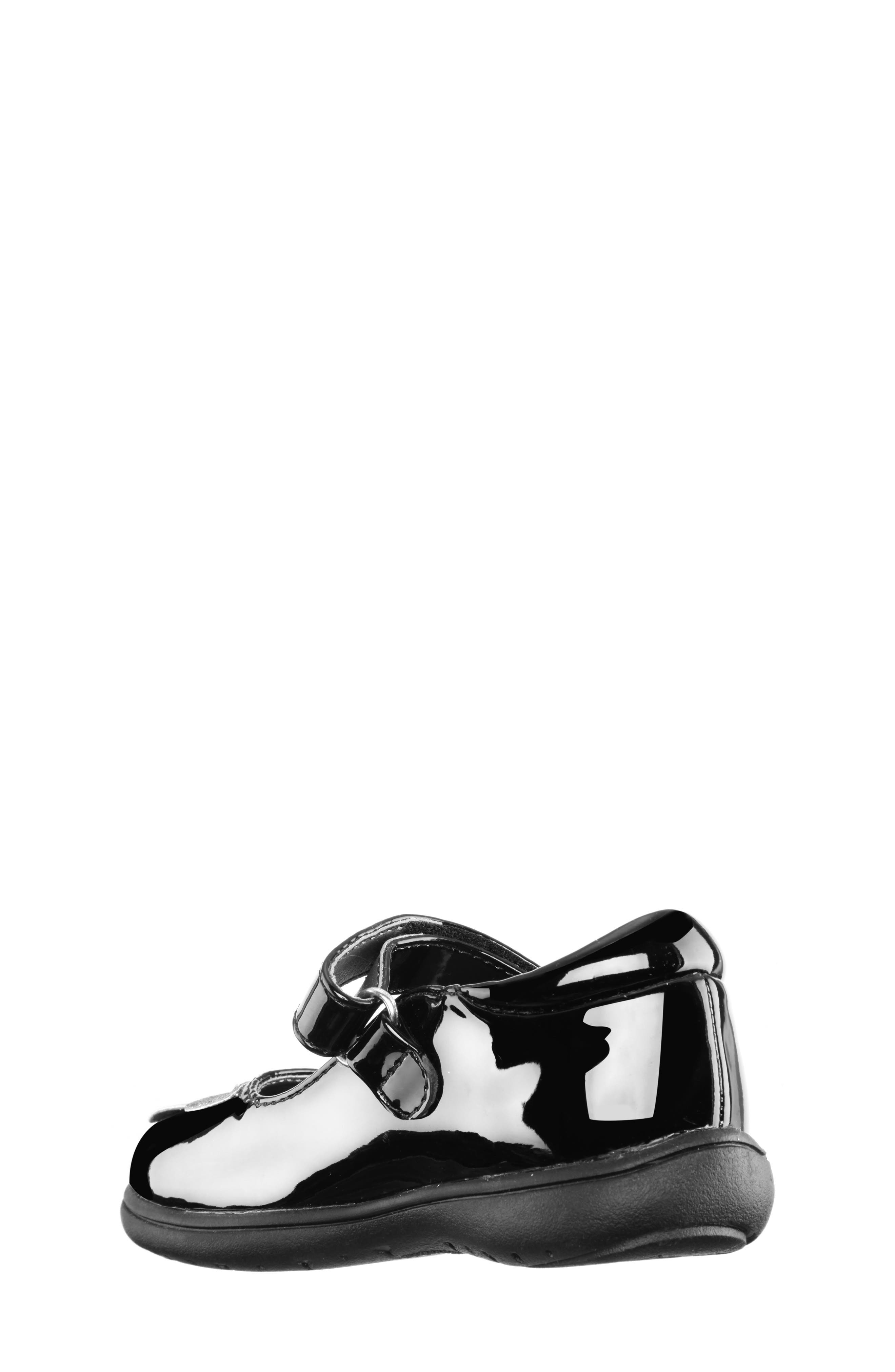 Alysha Glitter Mary Jane,                             Alternate thumbnail 2, color,                             BLACK/ PATENT GLITTER