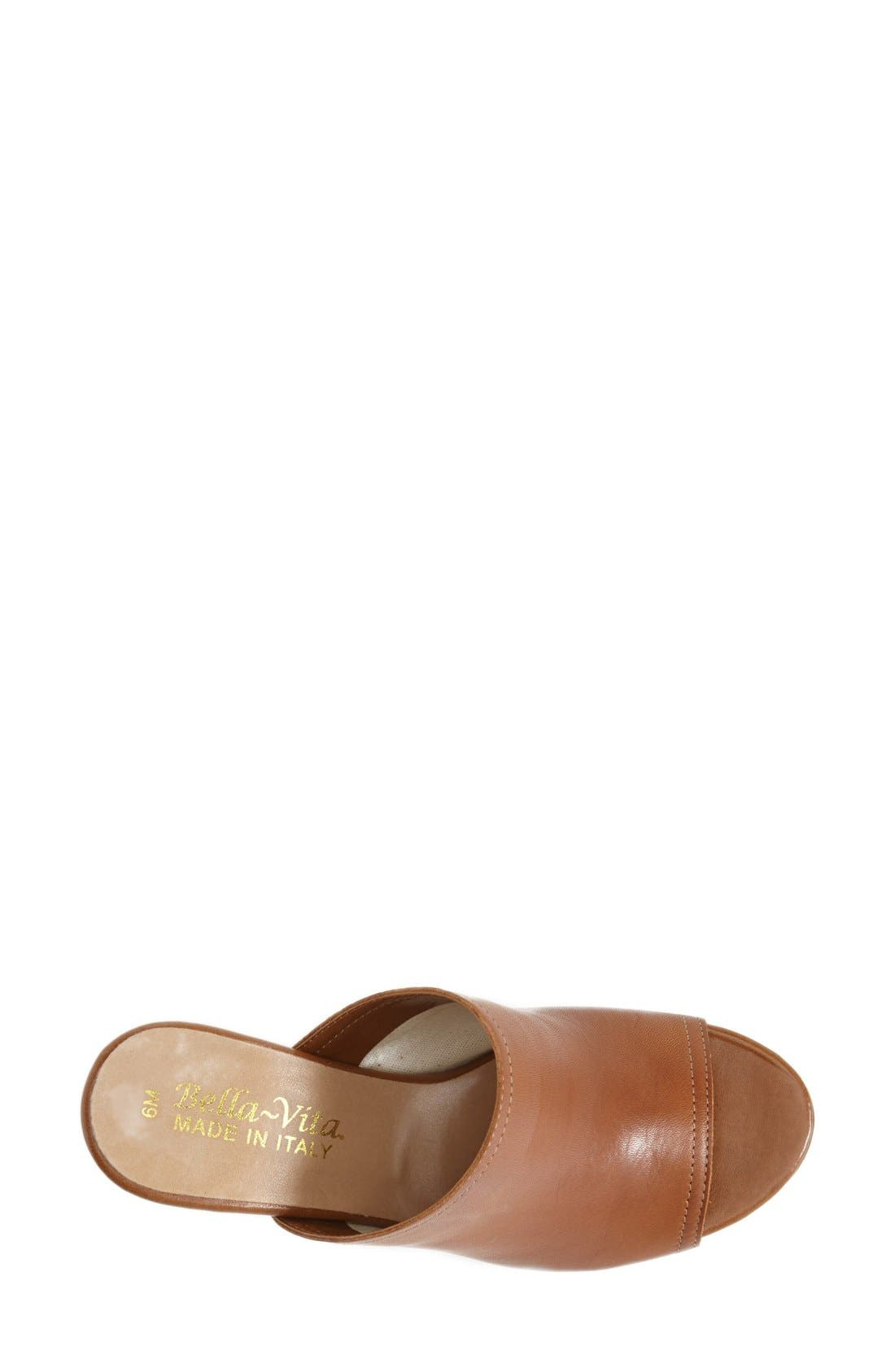 'Arno' Leather Mule,                             Alternate thumbnail 12, color,