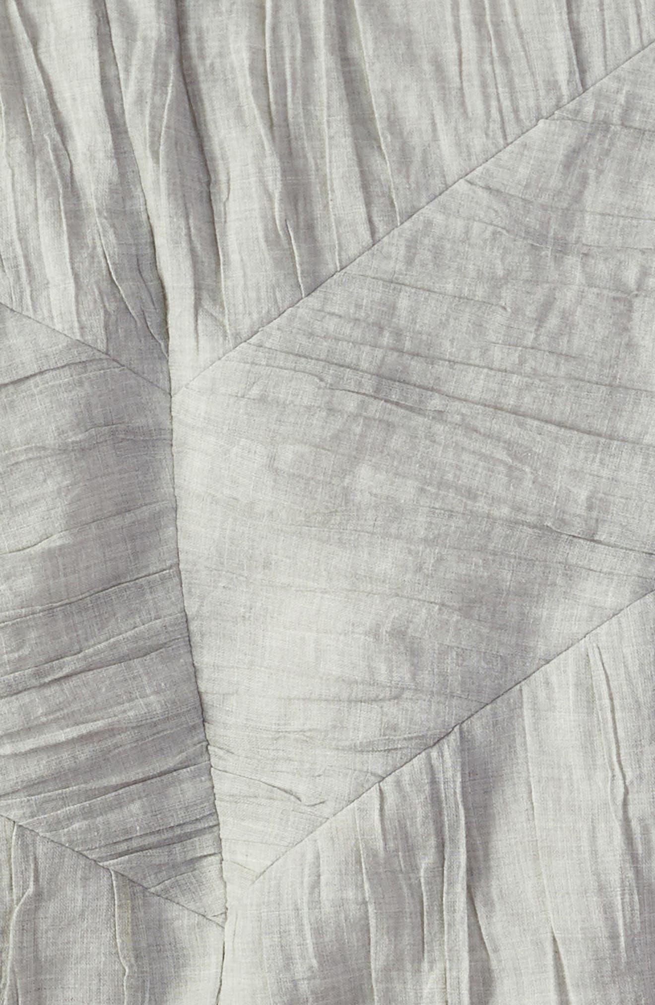 Selene Heathered Duvet Cover,                             Alternate thumbnail 2, color,                             GREY OPAL HEATHER