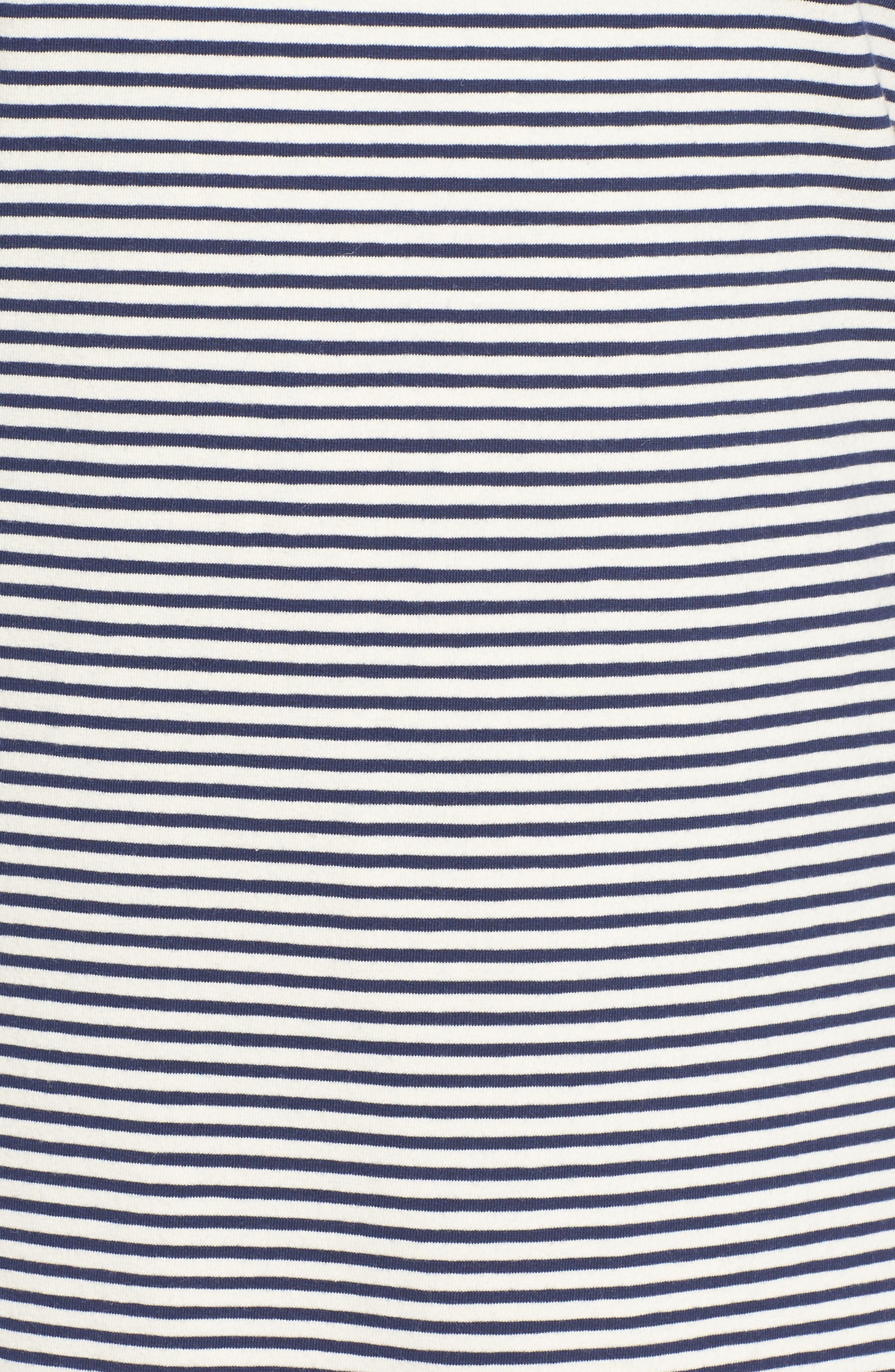 Stripe Flounce Dress,                             Alternate thumbnail 5, color,