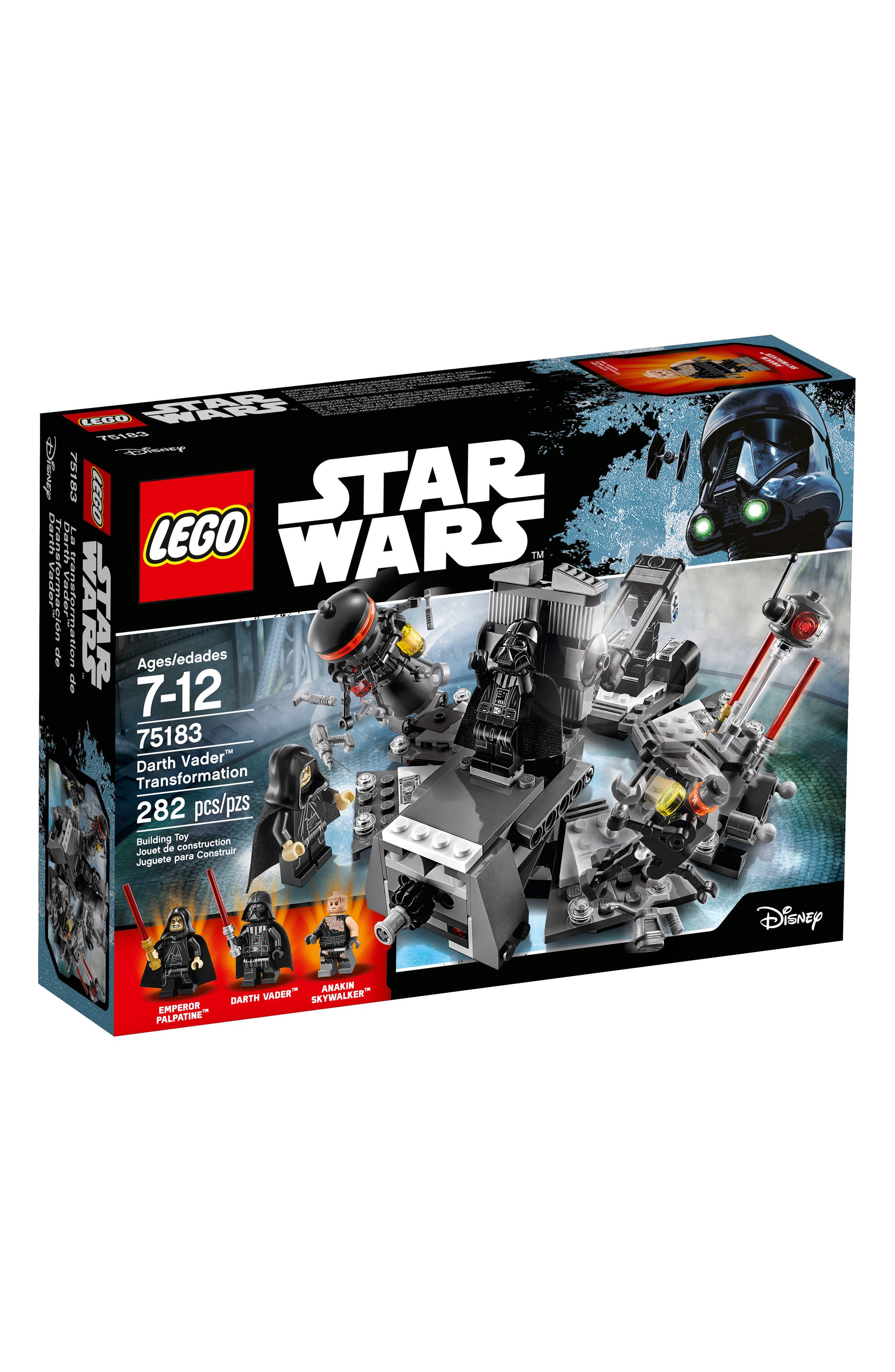 Star Wars<sup>™</sup> Revenge of the Sith Darth Vader Transformation - 75183,                             Main thumbnail 1, color,                             020