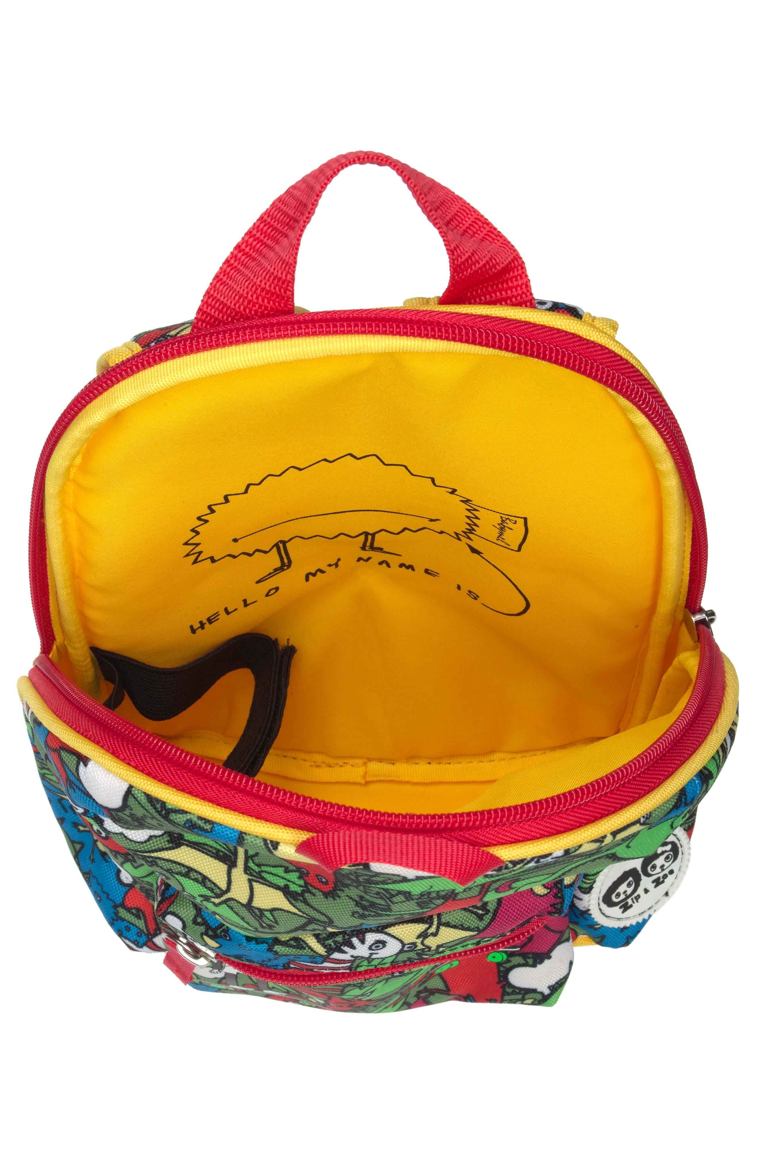 Graphic Mini Backpack,                             Alternate thumbnail 2, color,                             DINO MULTI