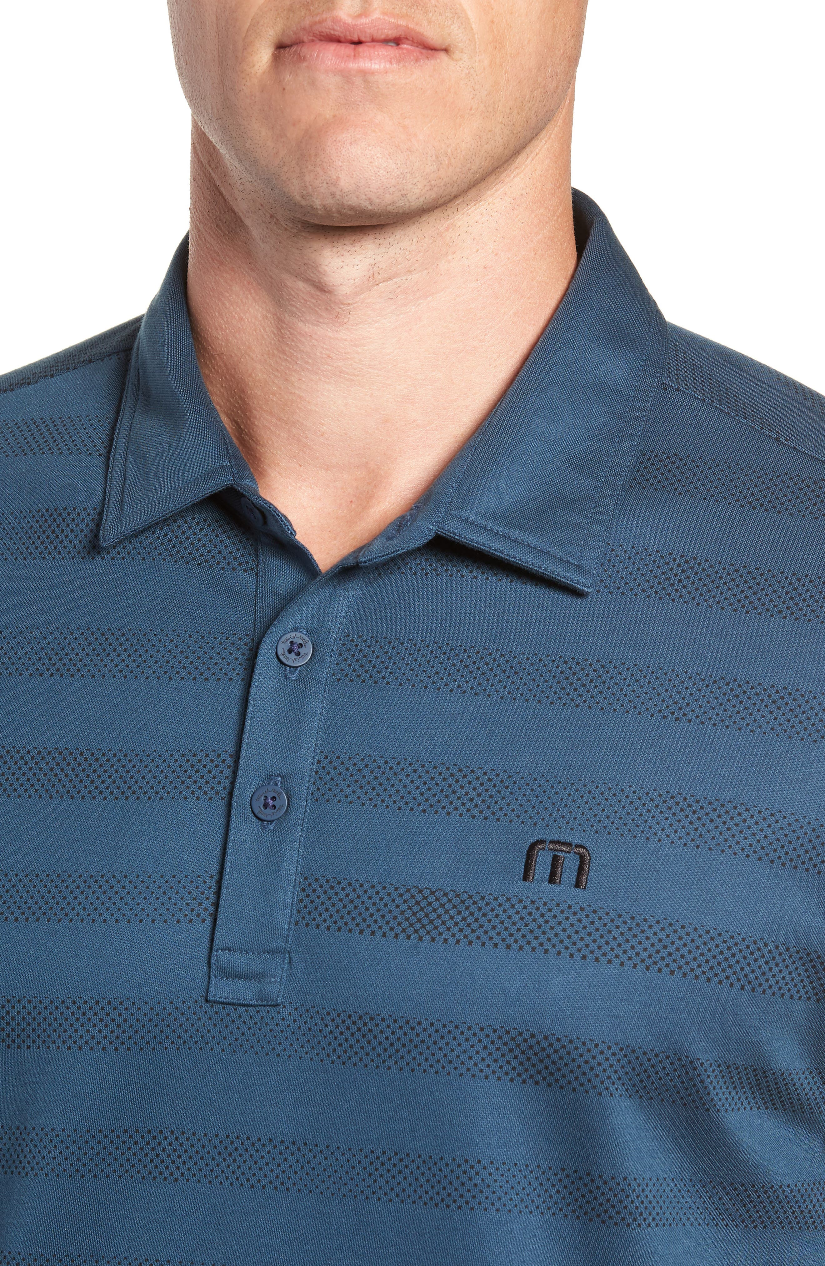 Dolphinantly Regular Fit Polo,                             Alternate thumbnail 4, color,                             BLUE WING TEAL