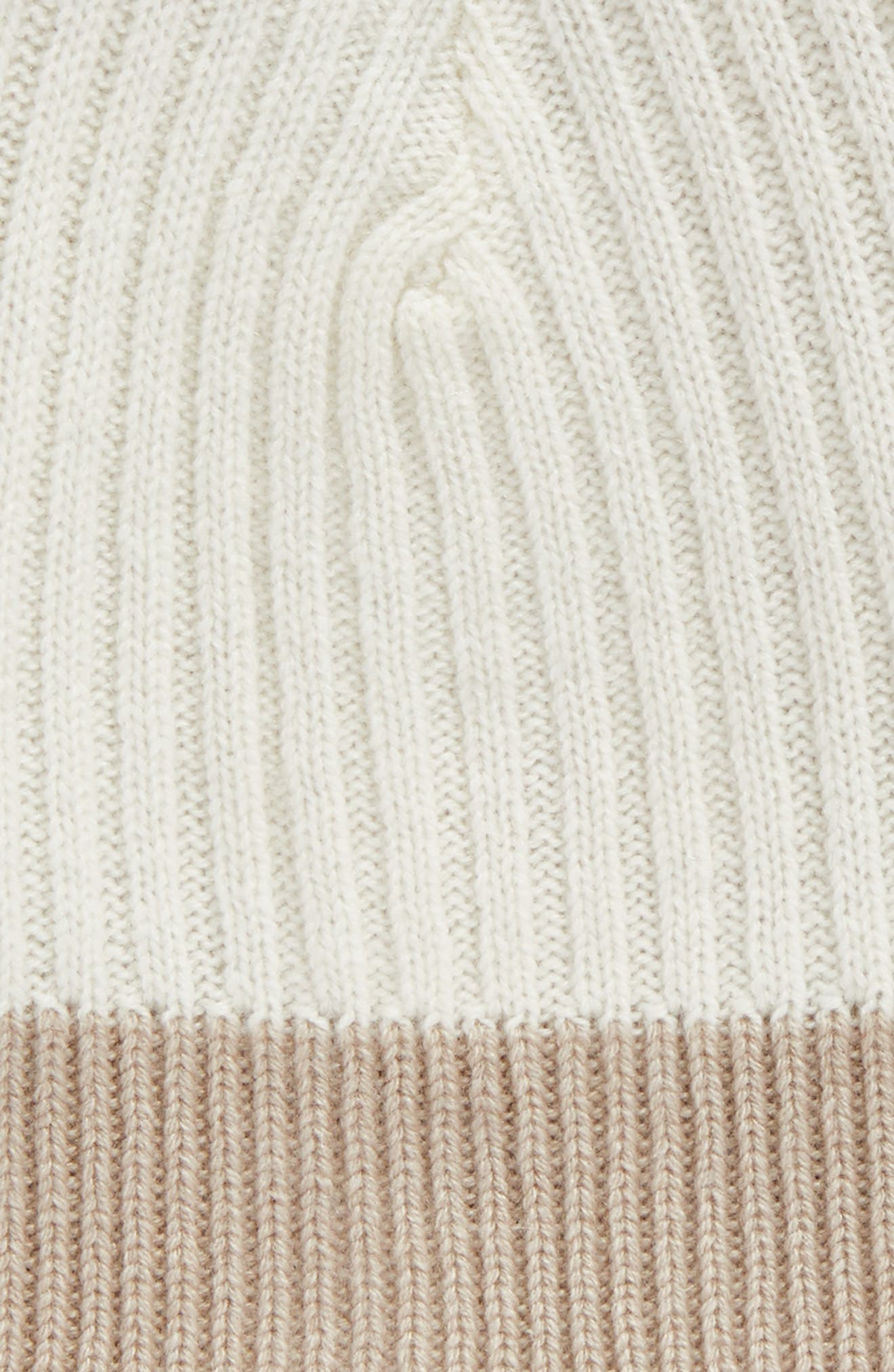 Ace Reversible Cashmere Beanie,                             Alternate thumbnail 3, color,                             211