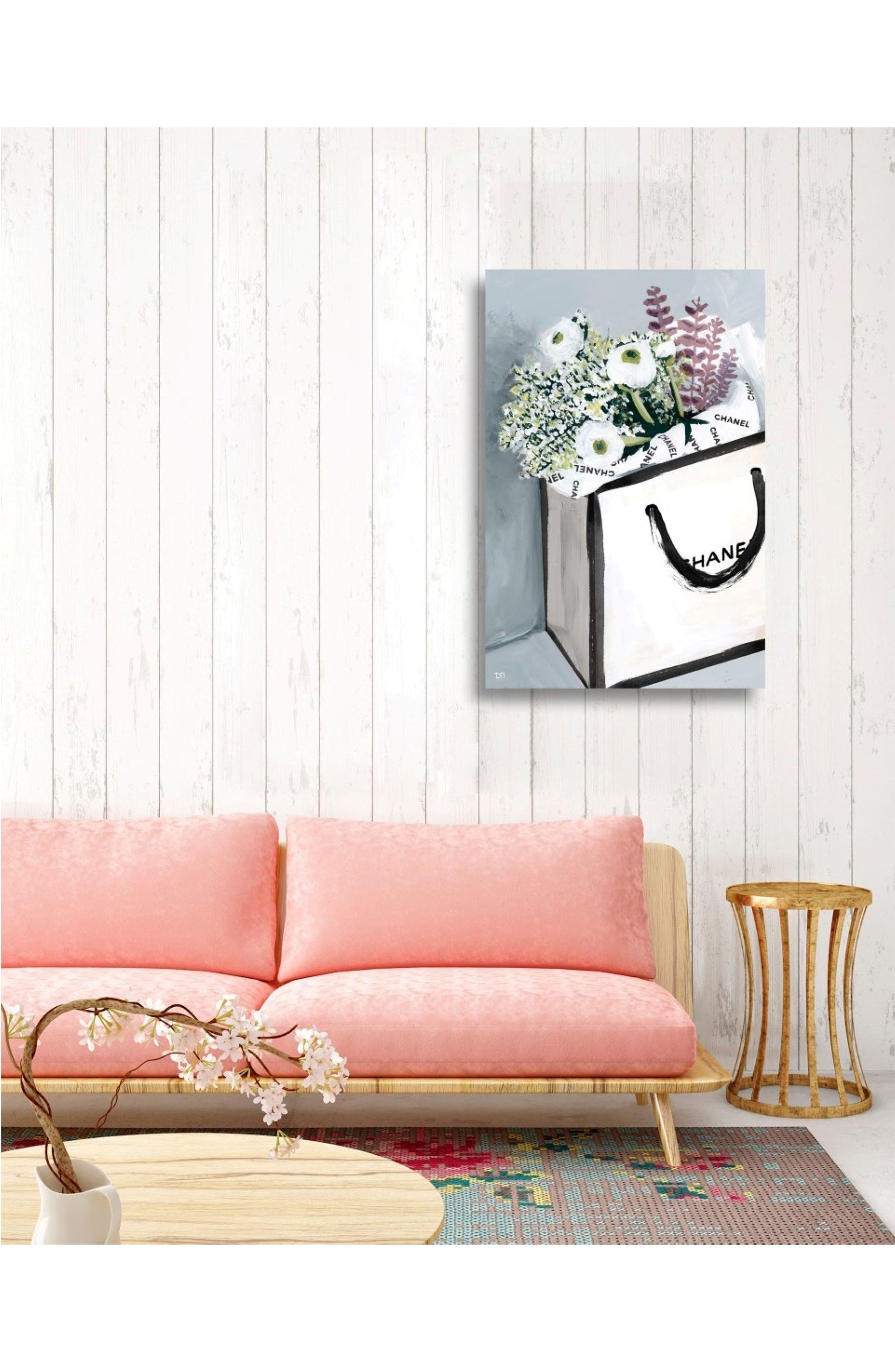 Flower Shopping Canvas Wall Art,                             Alternate thumbnail 2, color,                             400
