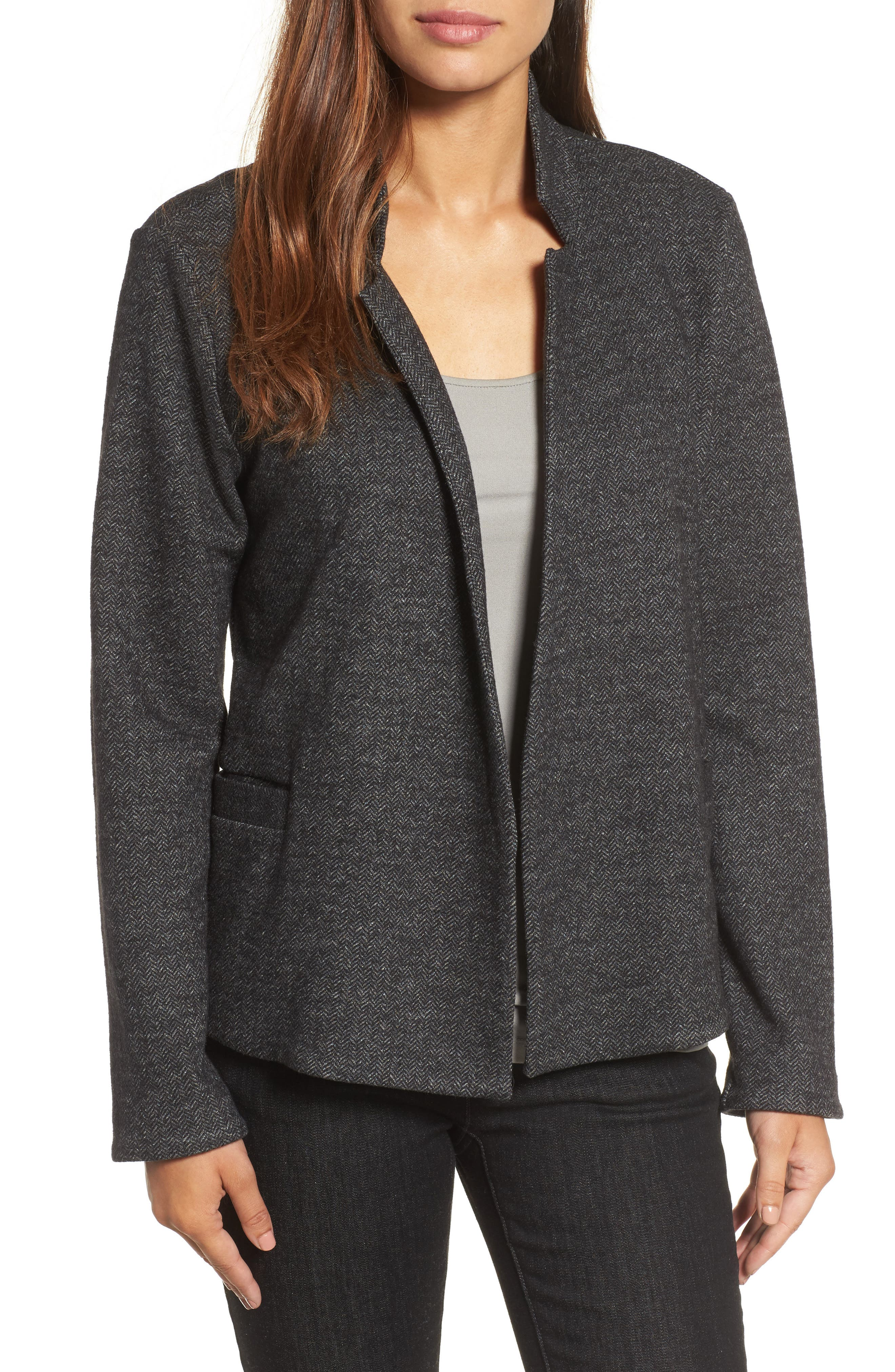 Herringbone Jacket,                         Main,                         color, 021