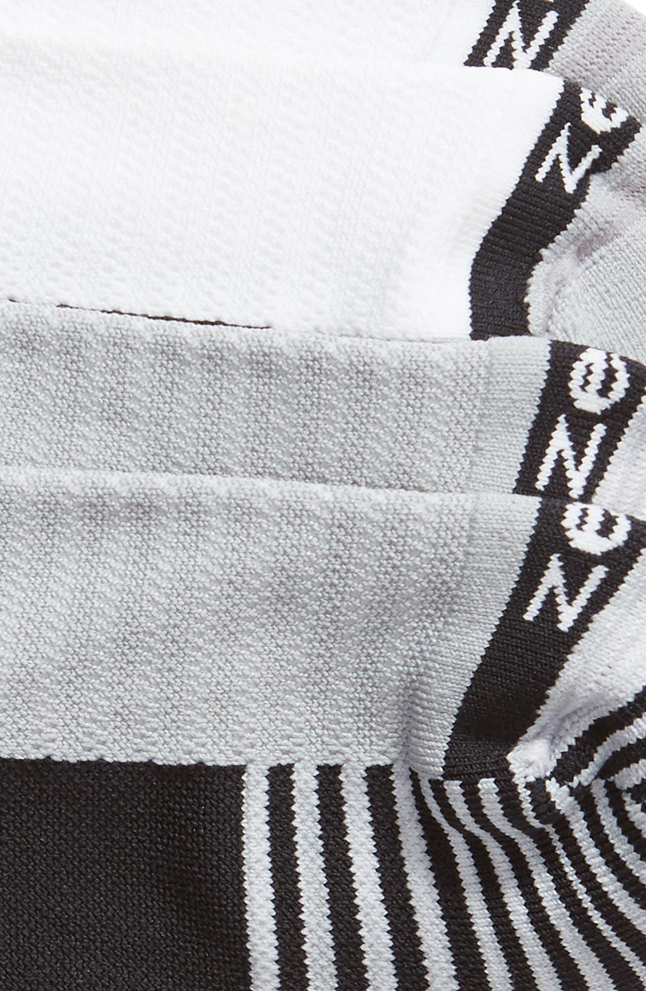 ZELLA,                             Two-Pack Training Socks,                             Alternate thumbnail 2, color,                             BLACK