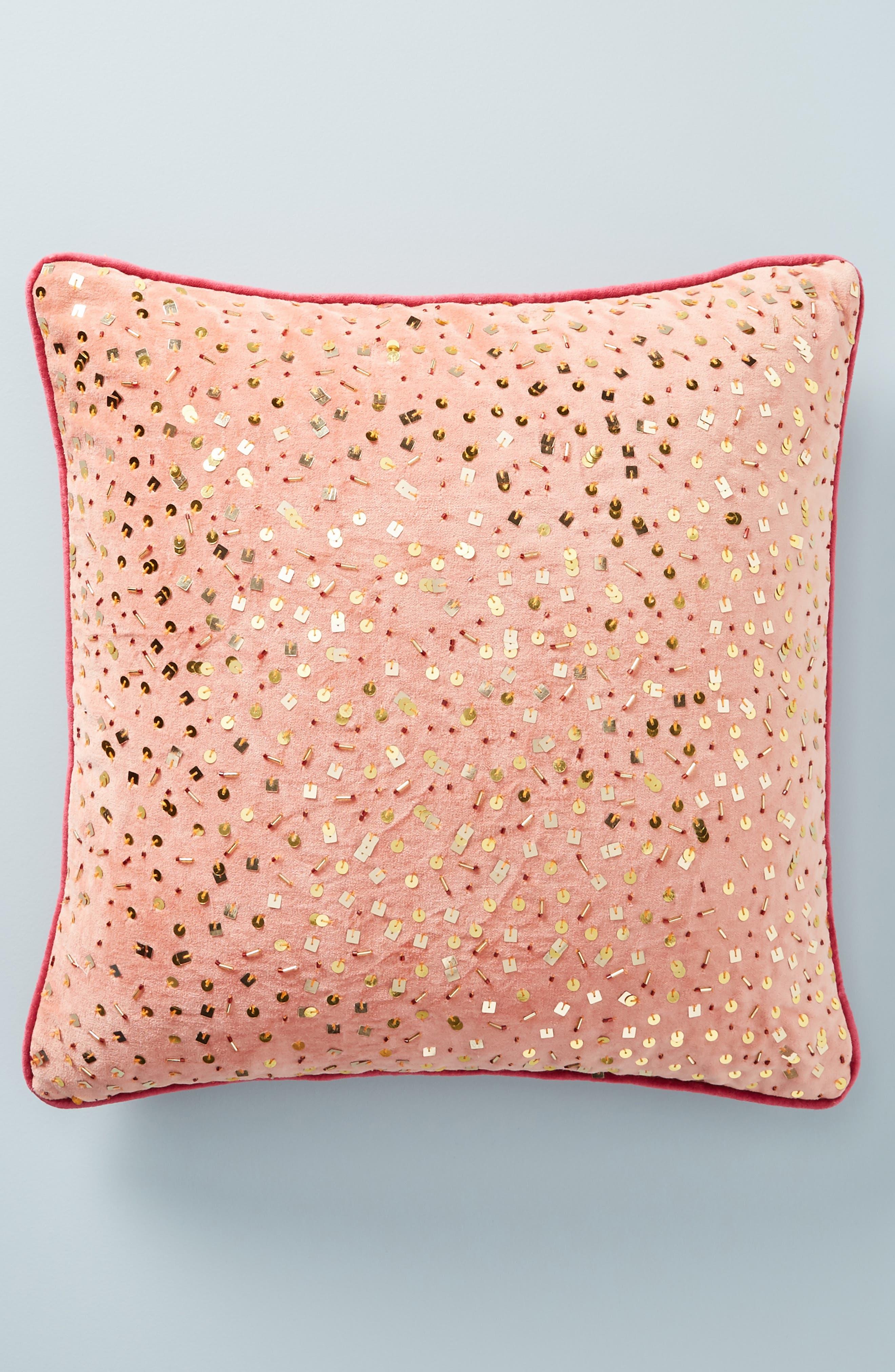 Confetti Velvet Accent Pillow, Main, color, 893
