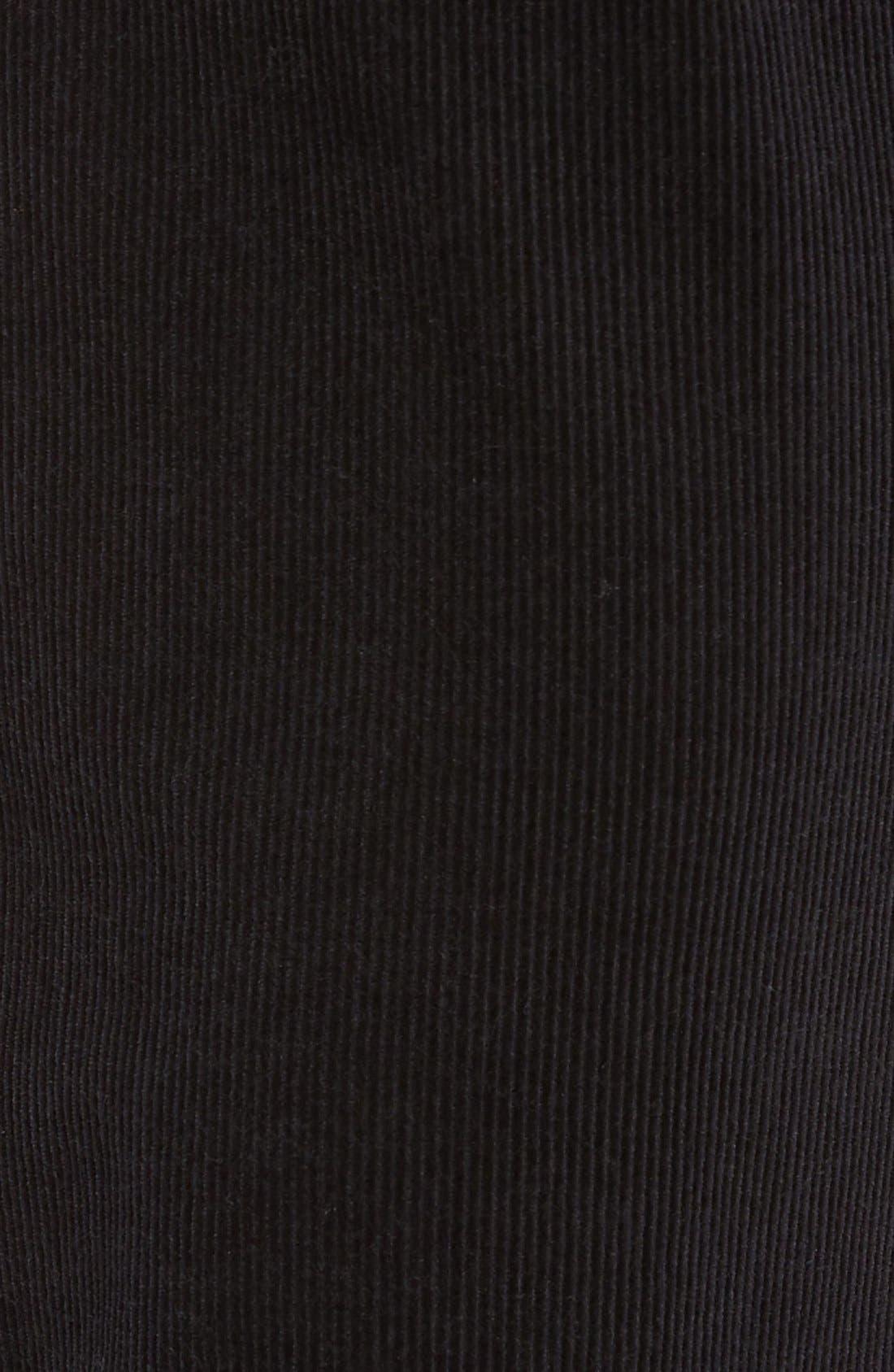 Greenwood Stretch Corduroy Pants,                             Alternate thumbnail 6, color,                             001