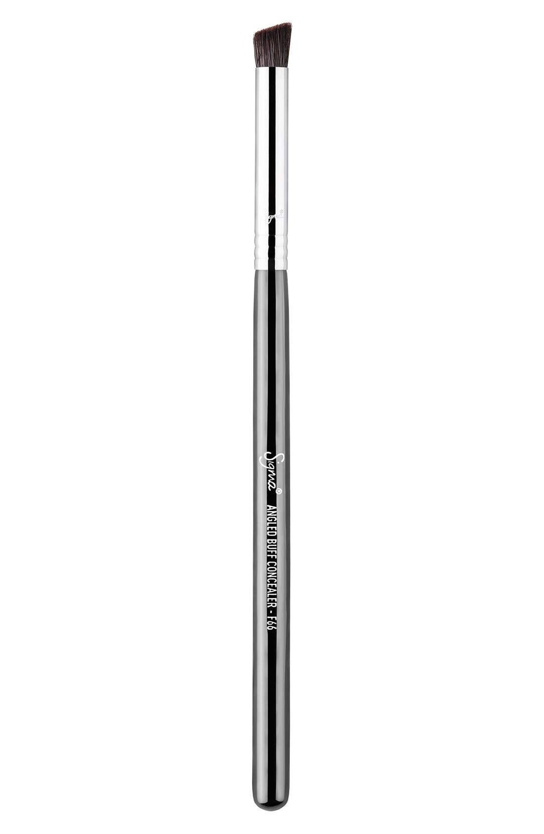 F66 Angled Buff Concealer<sup>™</sup> Brush,                             Main thumbnail 1, color,                             NO COLOR