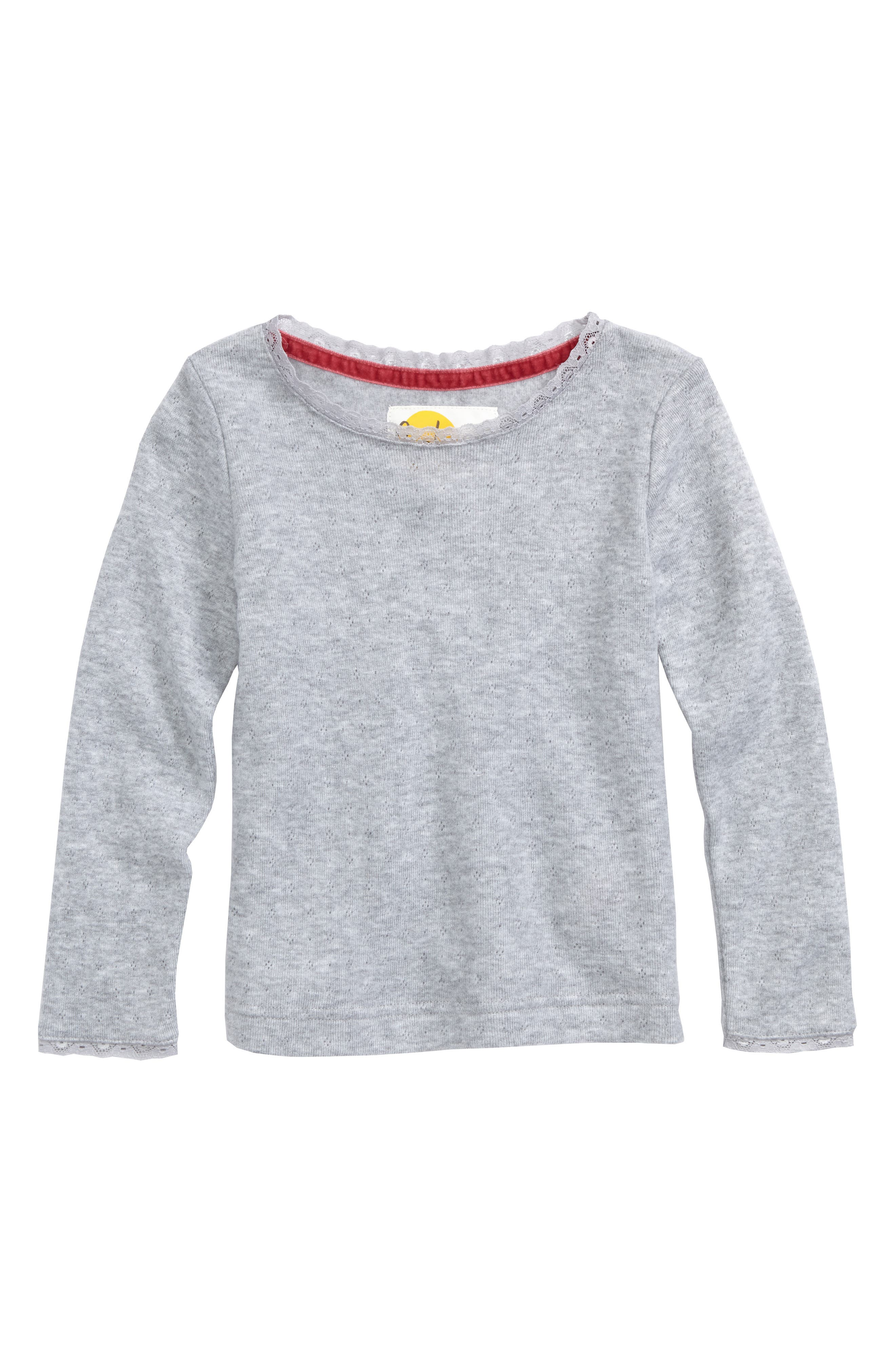 Soft Pointelle Tee,                         Main,                         color, 054