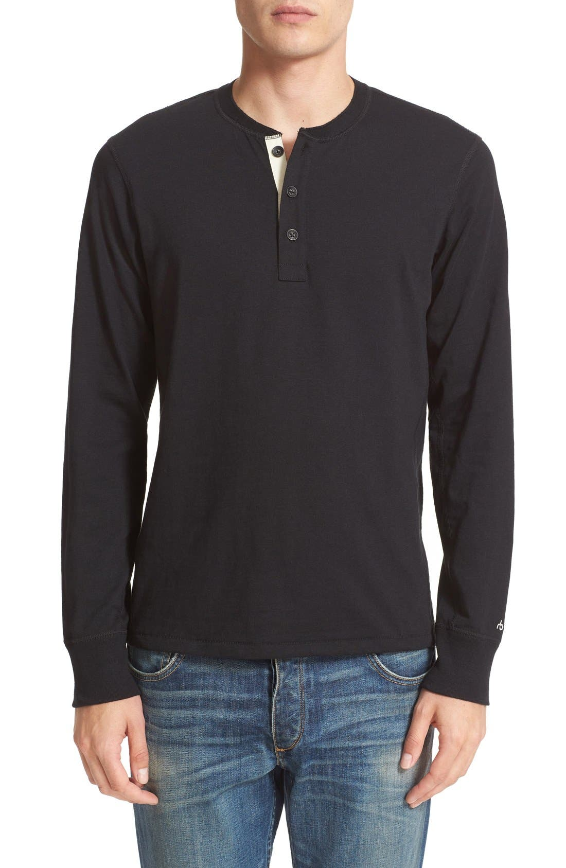 Standard Issue Henley,                         Main,                         color, 001