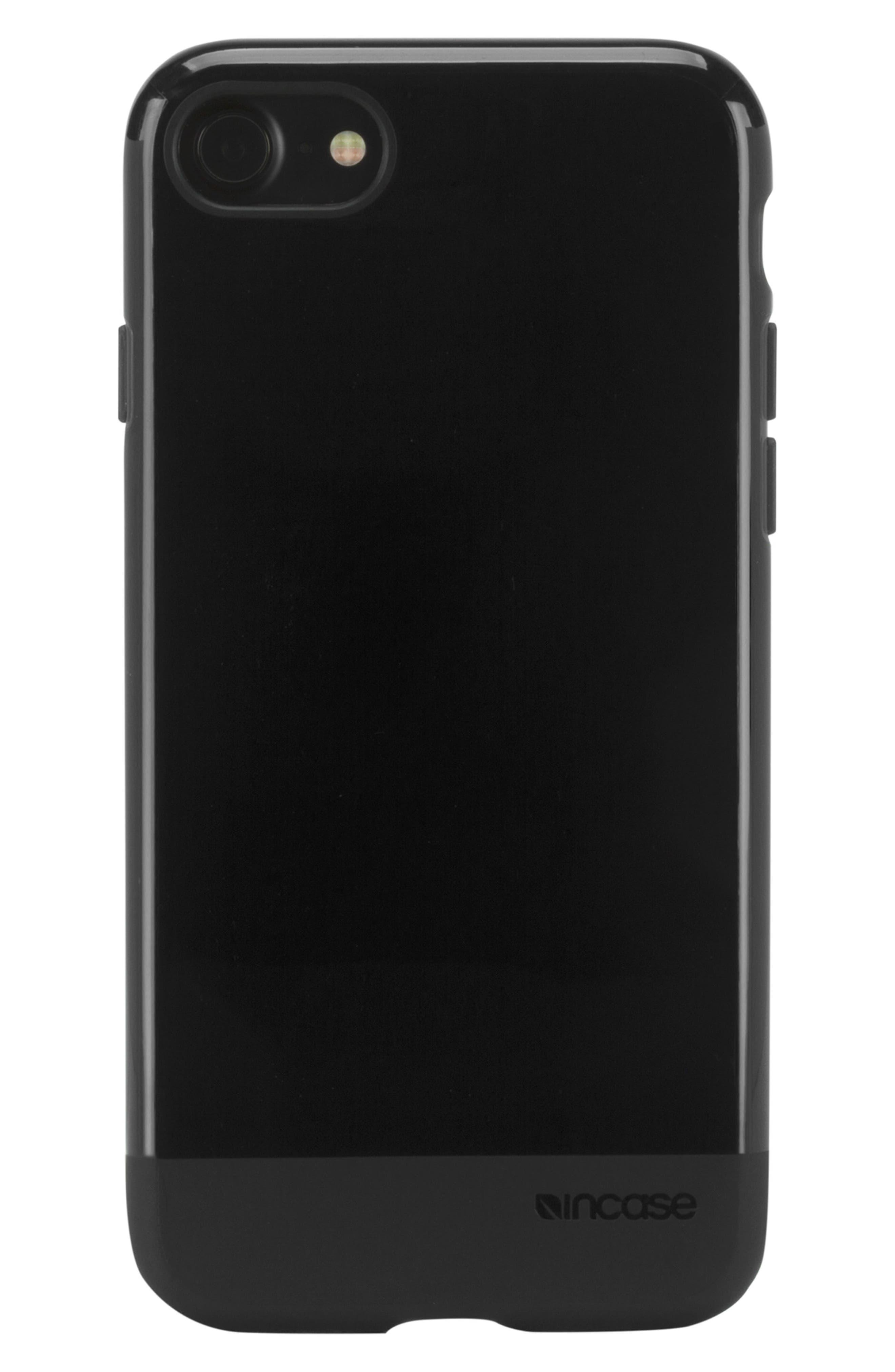 Protective iPhone 7/8 Case,                             Alternate thumbnail 3, color,                             BLACK