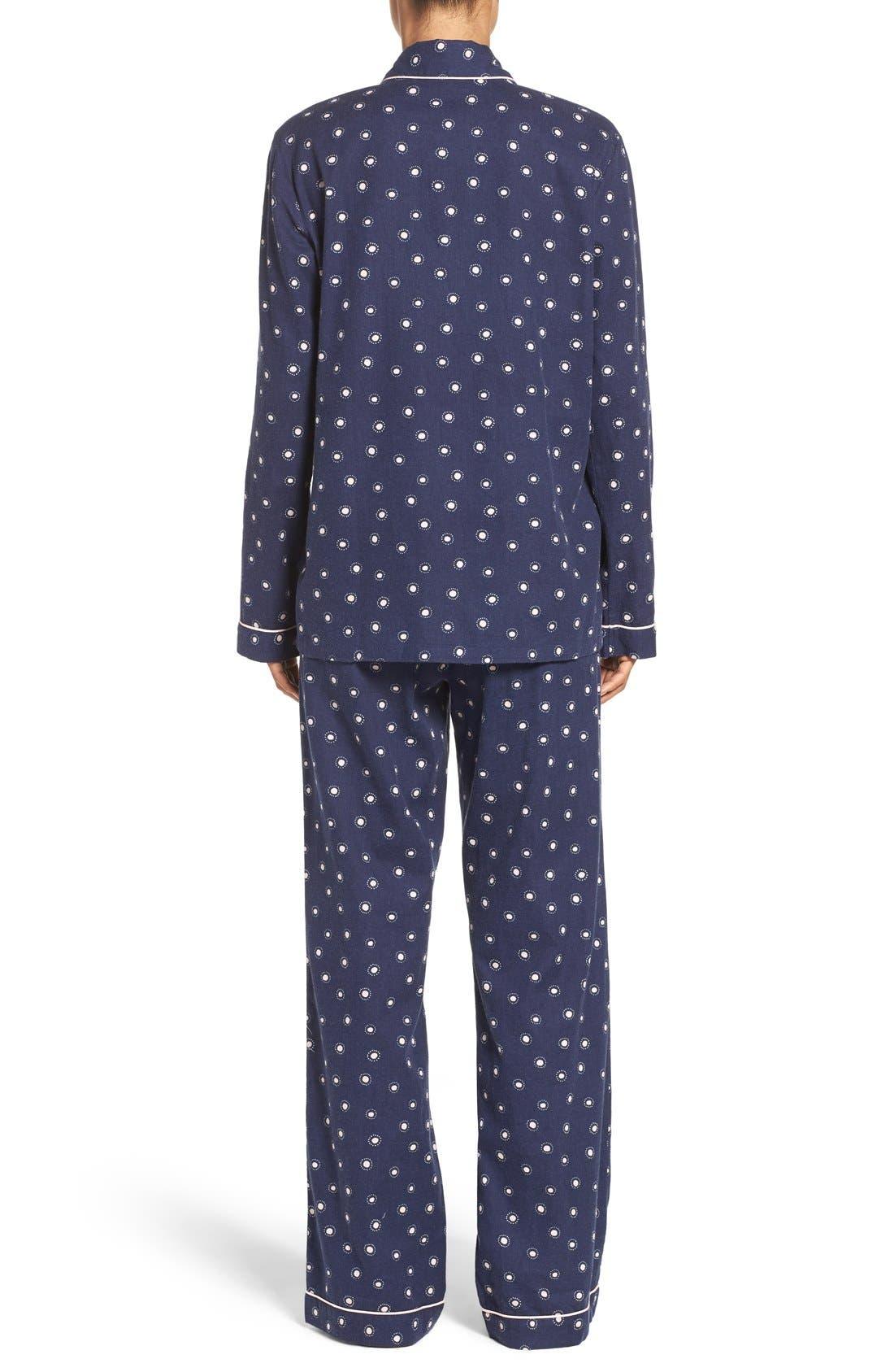 Cotton Twill Pajamas,                             Alternate thumbnail 40, color,