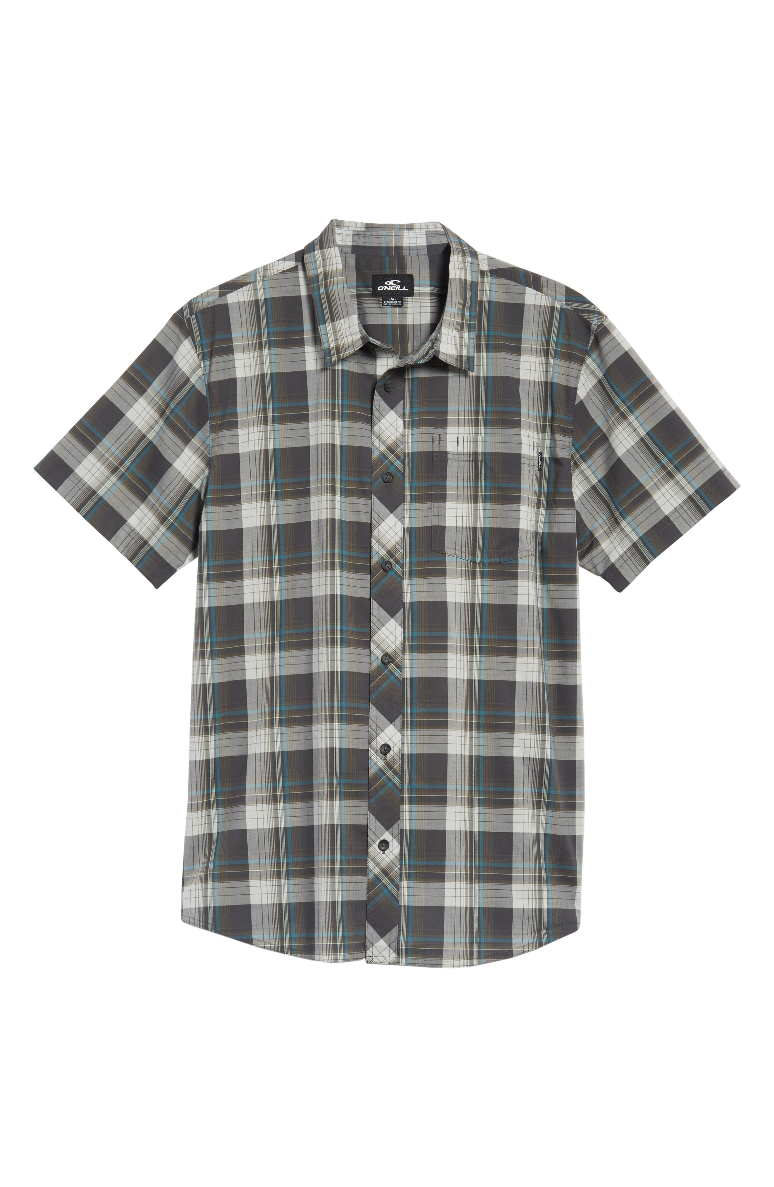 Gentry Short Sleeve Shirt,                             Alternate thumbnail 6, color,                             020