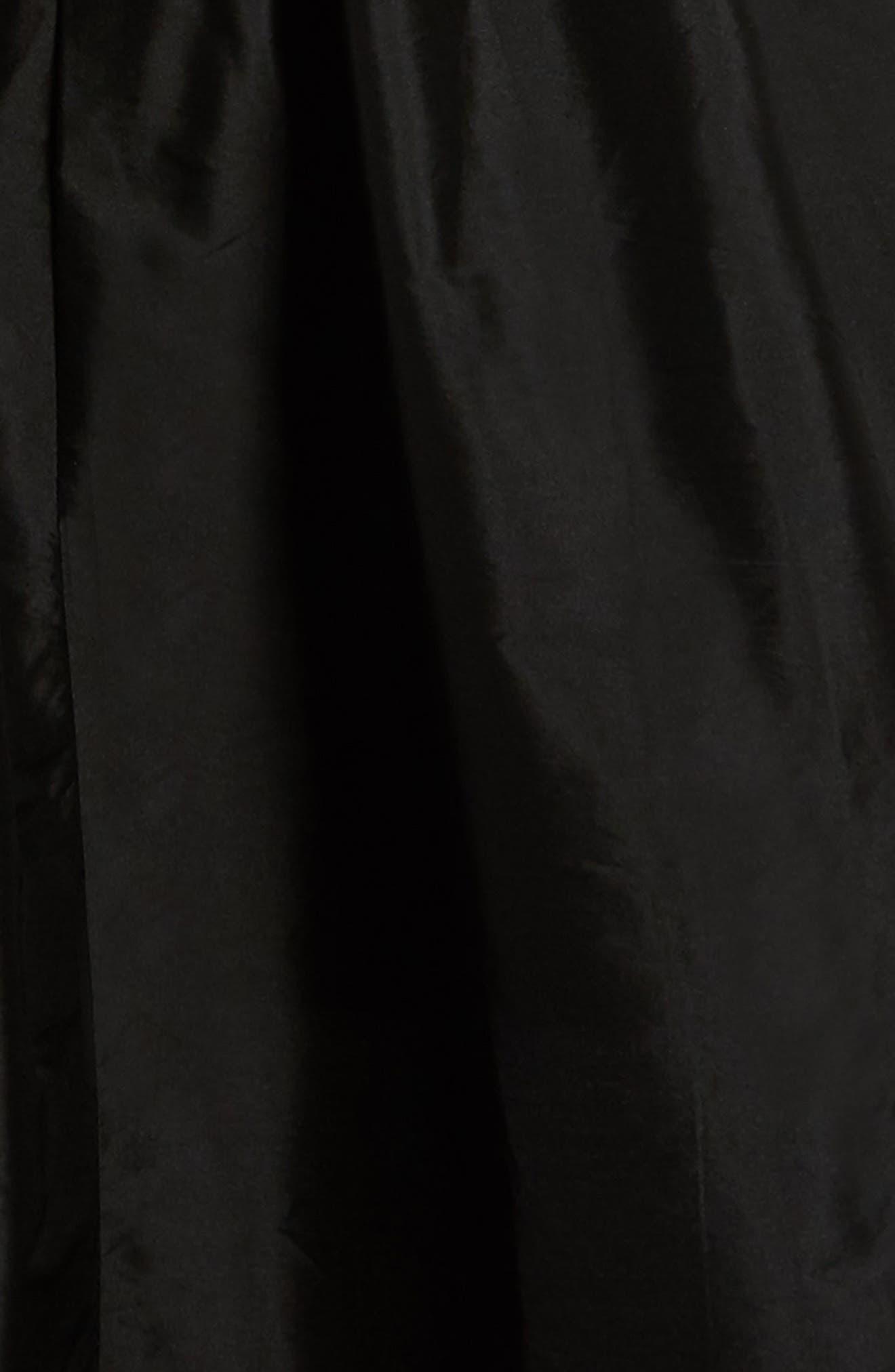 Sequin Embellished Fit & Flare Dress,                             Alternate thumbnail 3, color,                             650