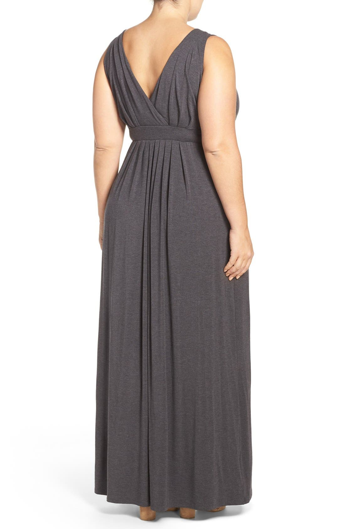 Chloe Empire Waist Maxi Dress,                             Alternate thumbnail 27, color,