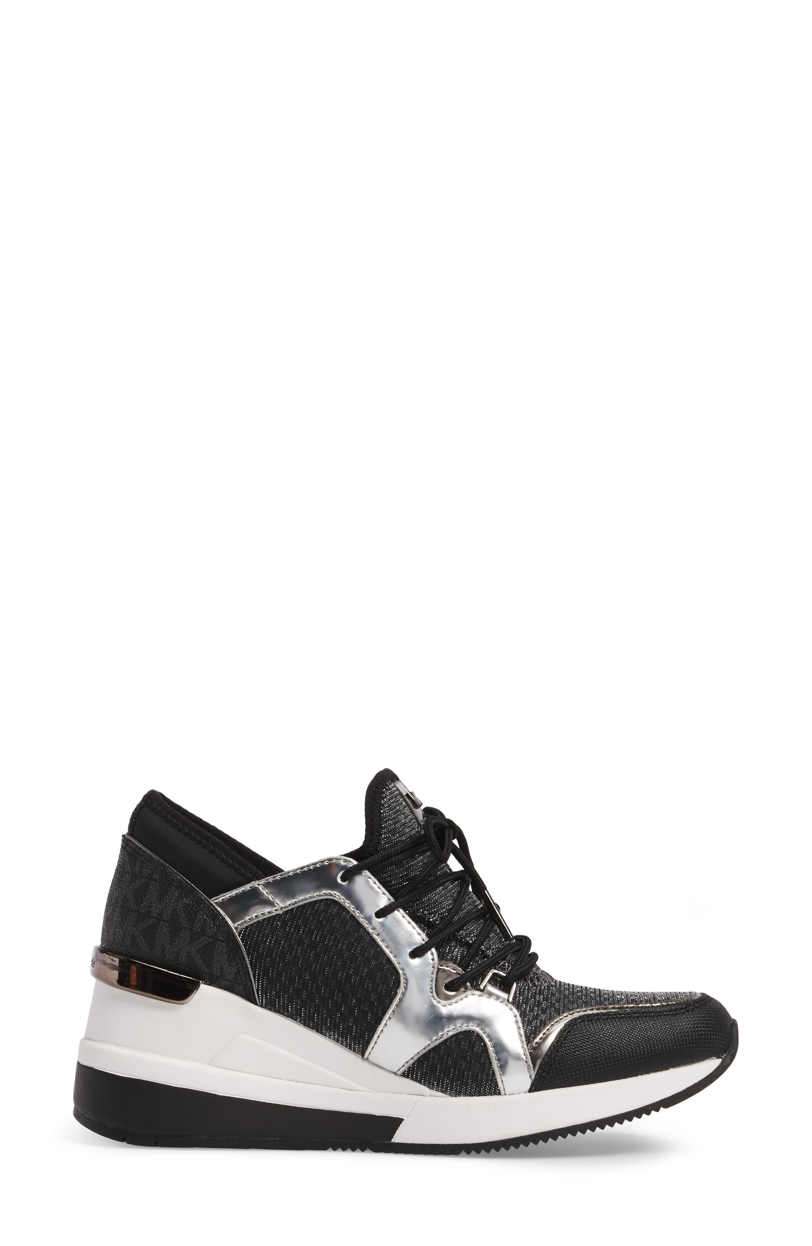 Scout Wedge Sneaker,                             Alternate thumbnail 3, color,                             041