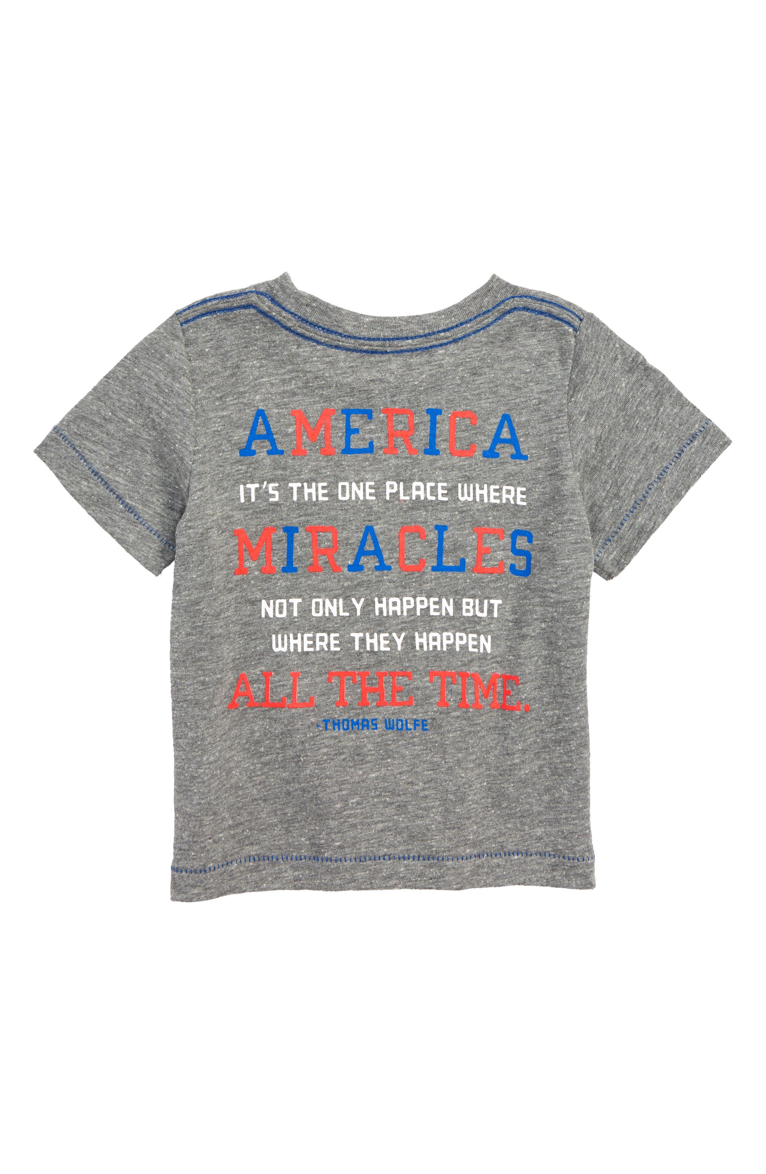 Peace Flag T-Shirt,                             Alternate thumbnail 2, color,                             032