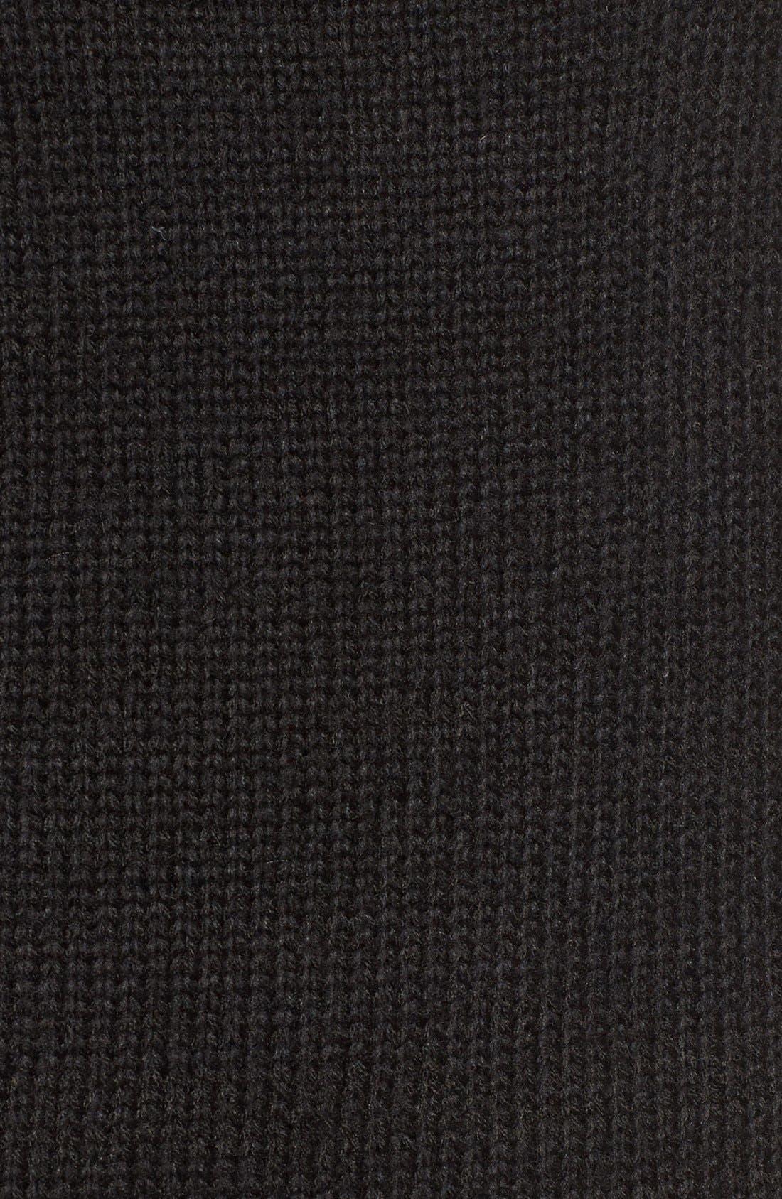 Turtleneck Sweater Dress,                             Alternate thumbnail 2, color,                             001