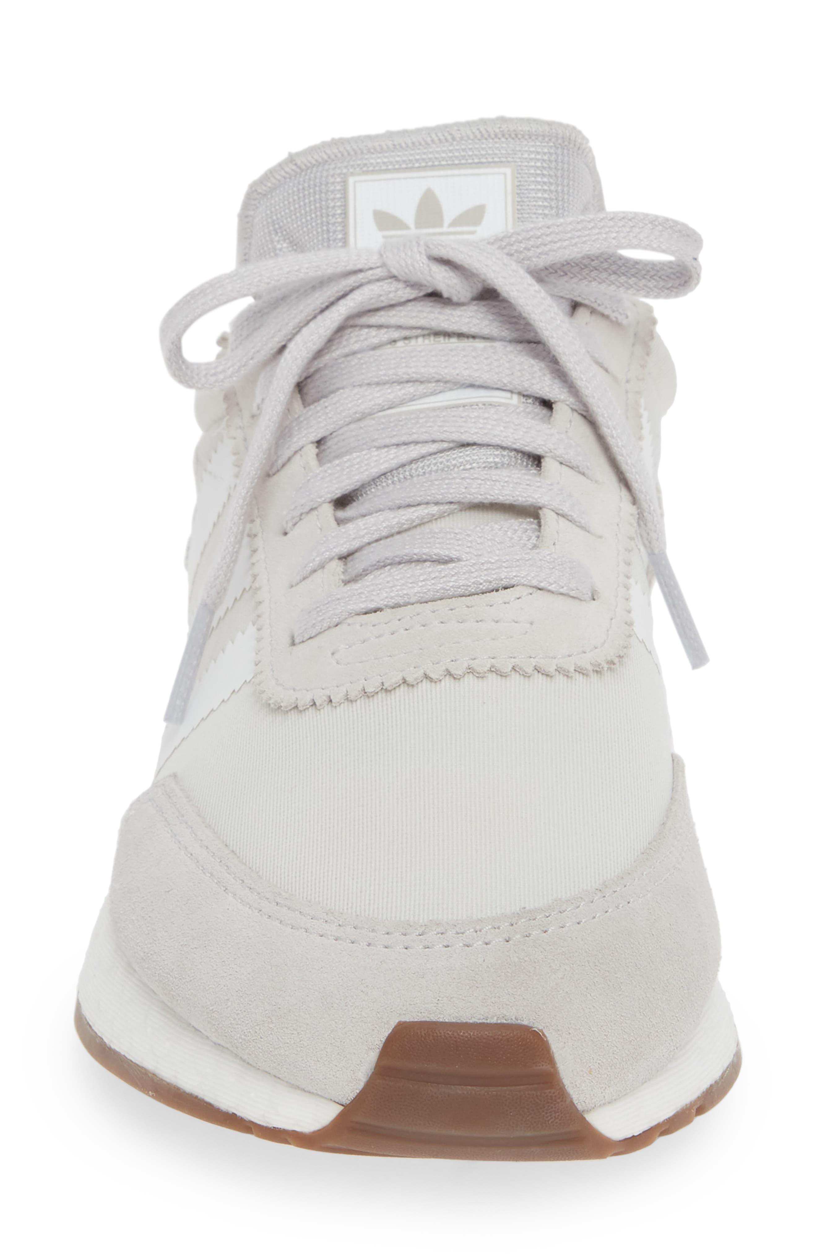 I-5923 Sneaker,                             Alternate thumbnail 4, color,                             GREY ONE/ WHITE/ GREY FIVE