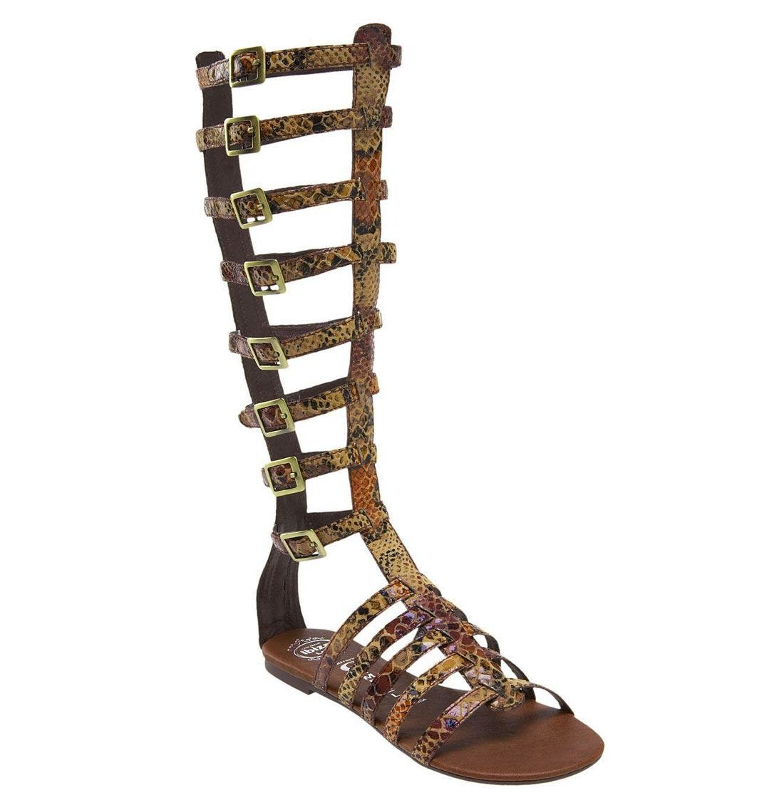 'Tip 2' Gladiator Sandal,                             Main thumbnail 1, color,                             200