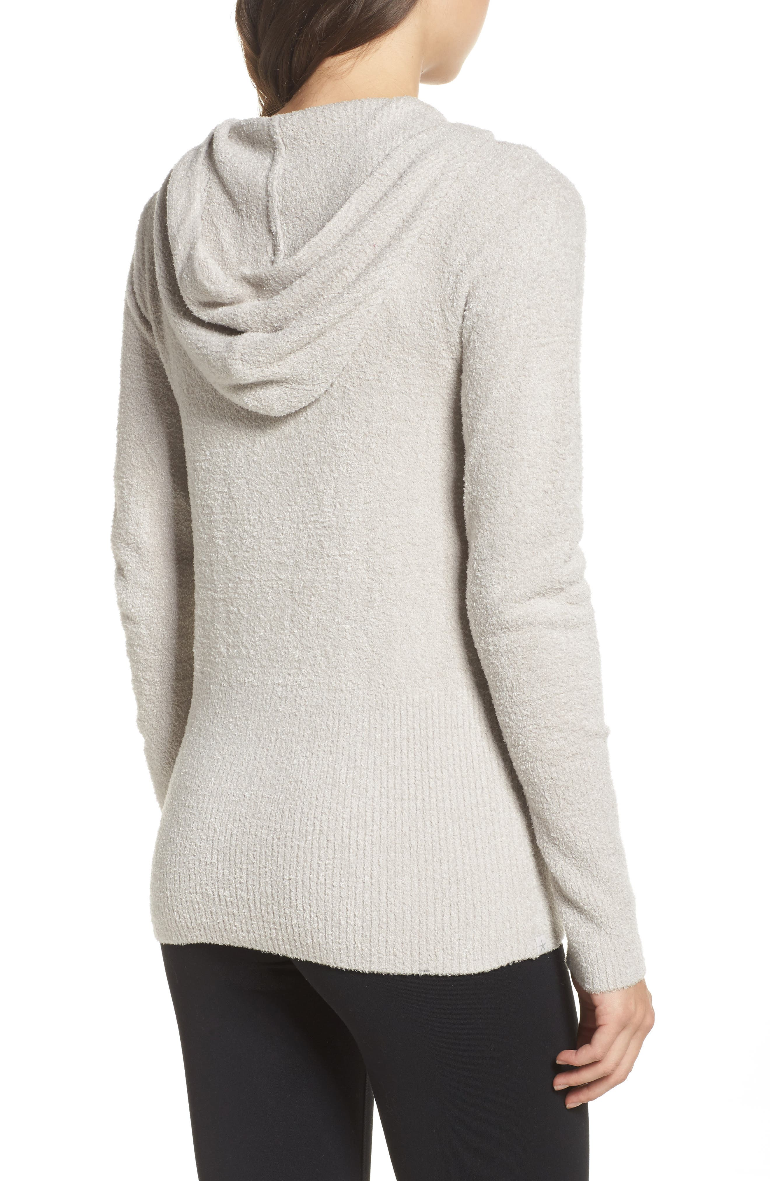 Cozychic Lite<sup>®</sup> Lounge Hoodie,                             Alternate thumbnail 2, color,                             SILVER