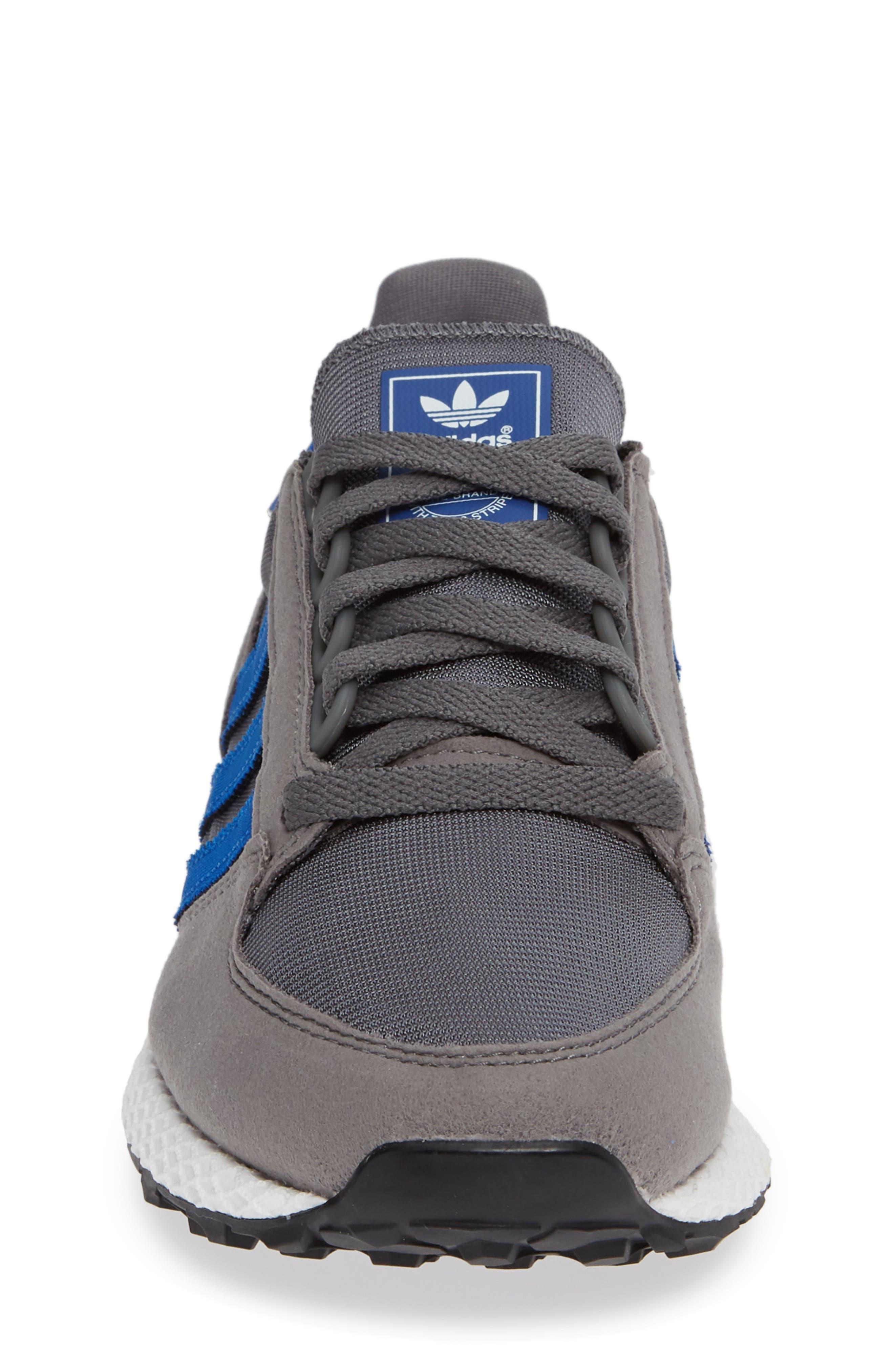 Forest Grove Sneaker,                             Alternate thumbnail 4, color,                             GREY/ COLLEGIATE ROYAL/ WHITE
