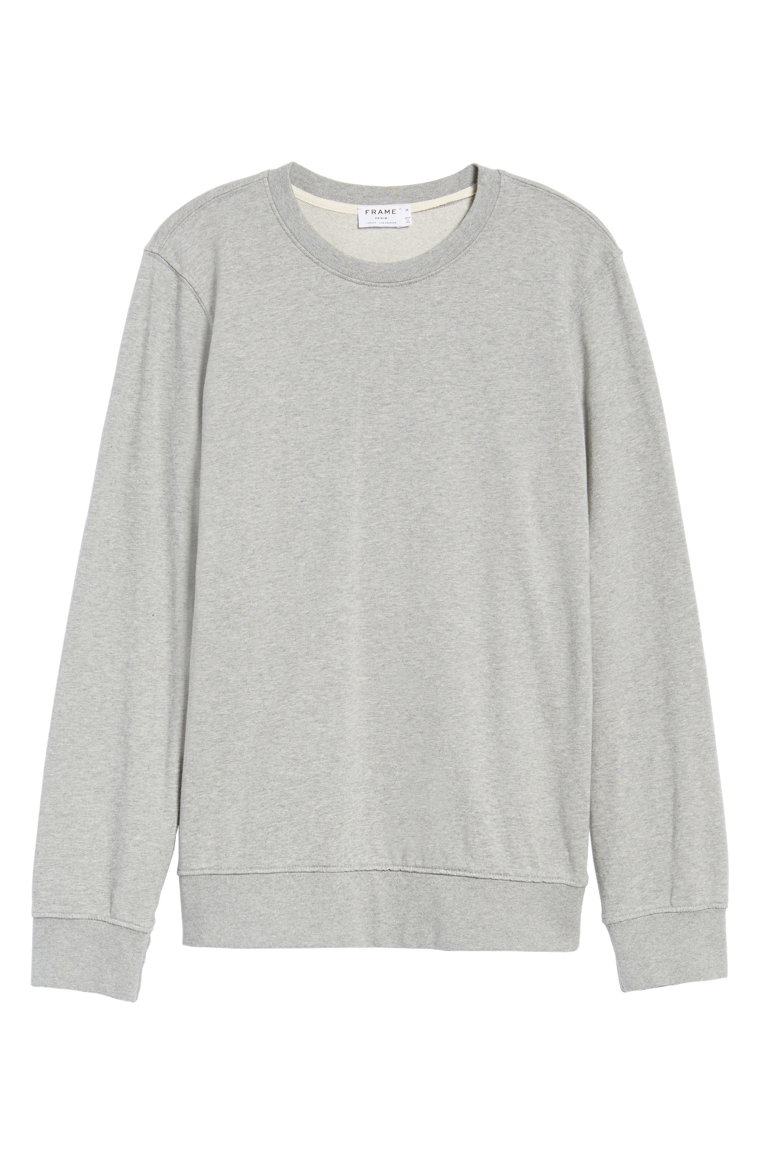 French Terry Sweatshirt,                             Alternate thumbnail 17, color,