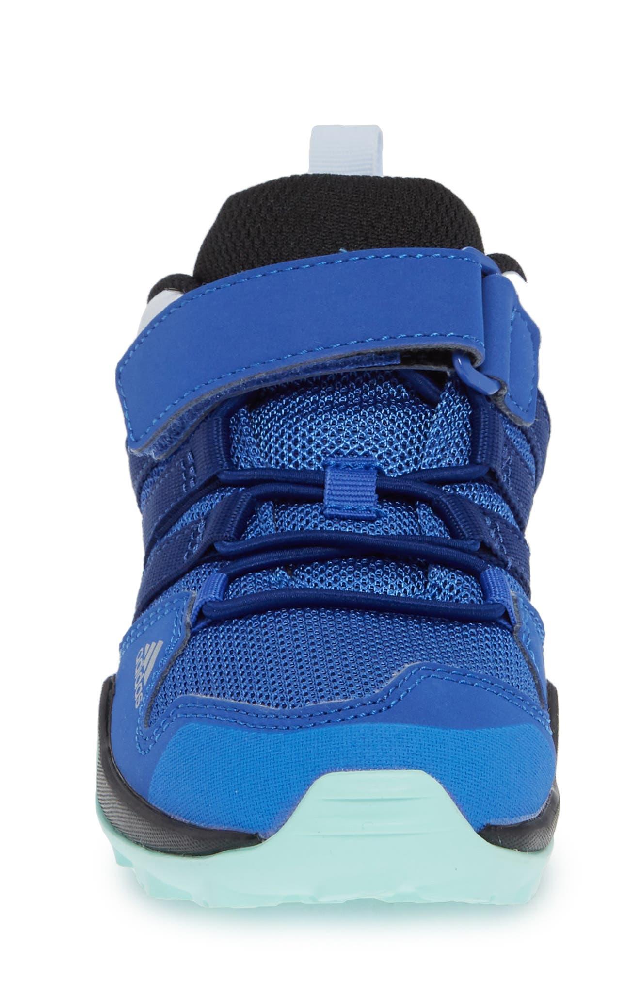 Terrex AX2R Sneaker,                             Alternate thumbnail 4, color,                             HI-RES BLUE/ MYSTERY INK/ MINT