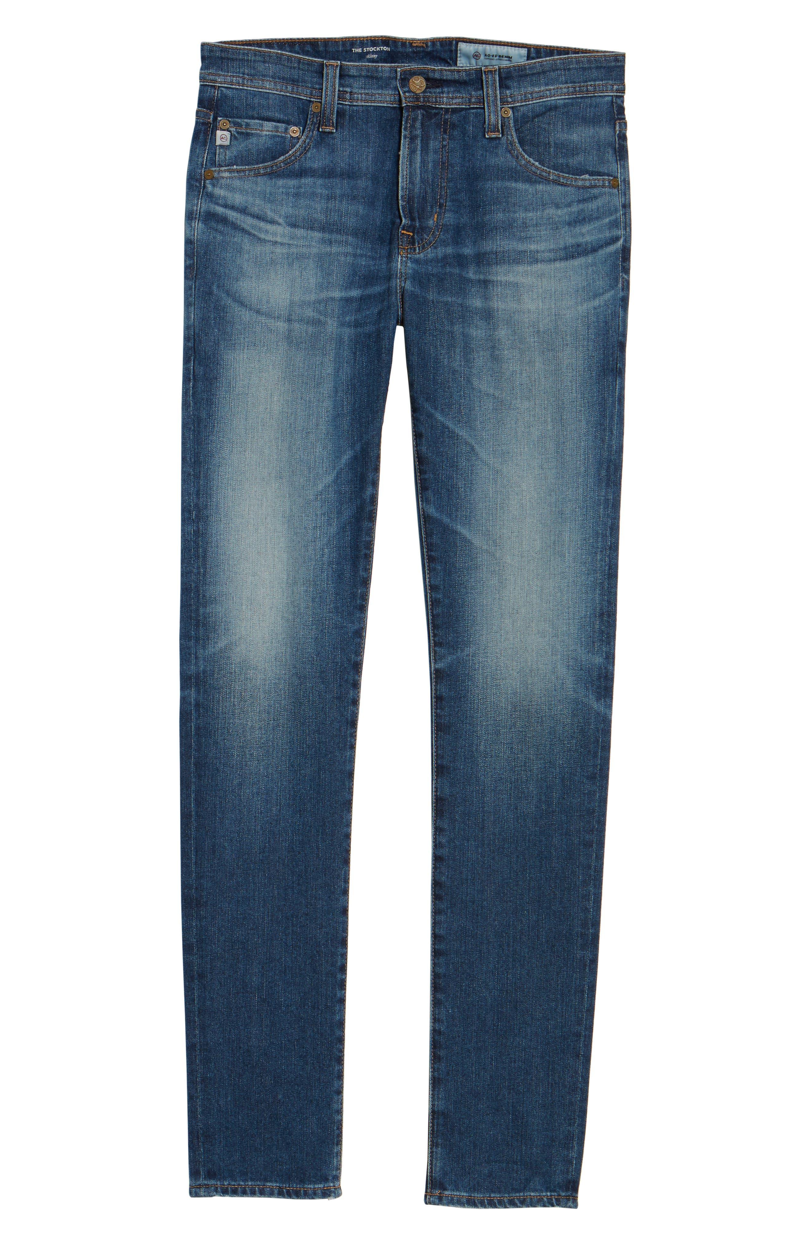 Jeans Stockton Skinny Fit Jeans,                             Alternate thumbnail 6, color,                             427