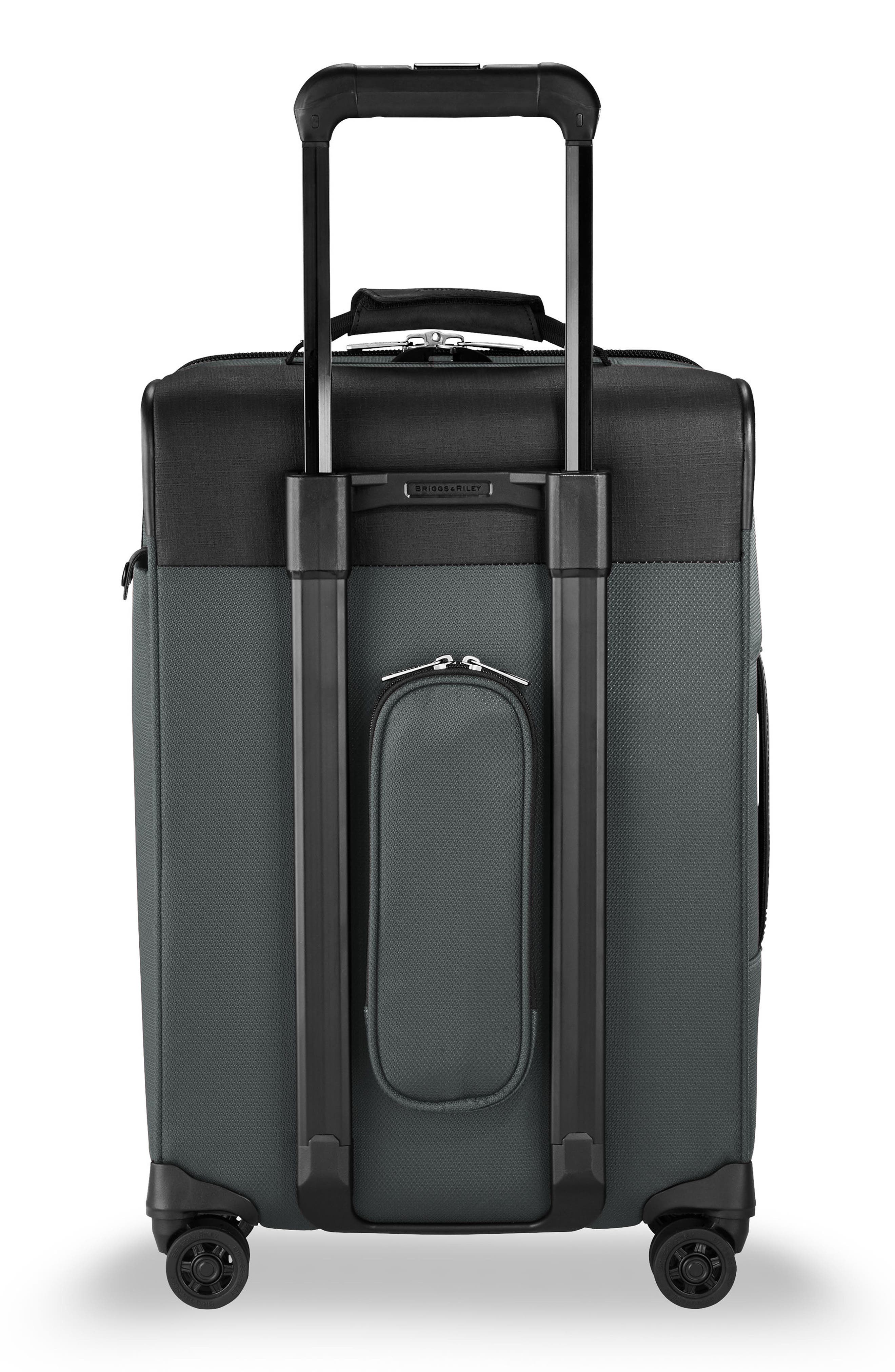 Transcend VX Tall Expandable 22-Inch Spinner Suitcase,                             Alternate thumbnail 4, color,                             SLATE GREY