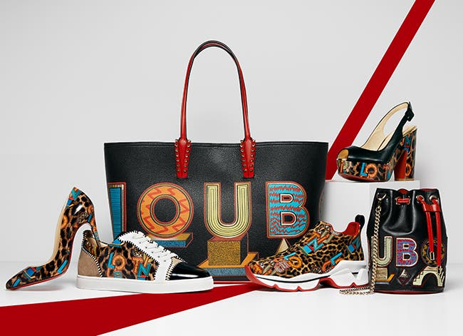 Christian Louboutin exclusive capsule collection.