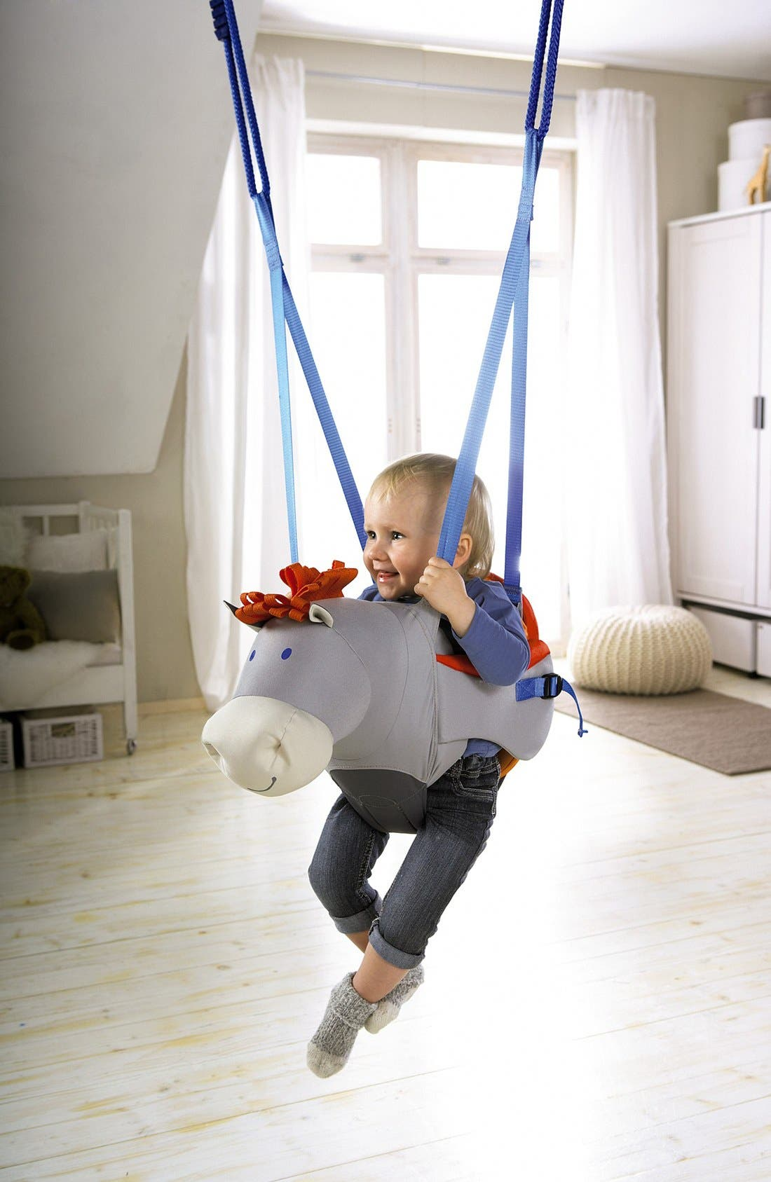 Horse Baby Swing,                             Alternate thumbnail 4, color,                             100