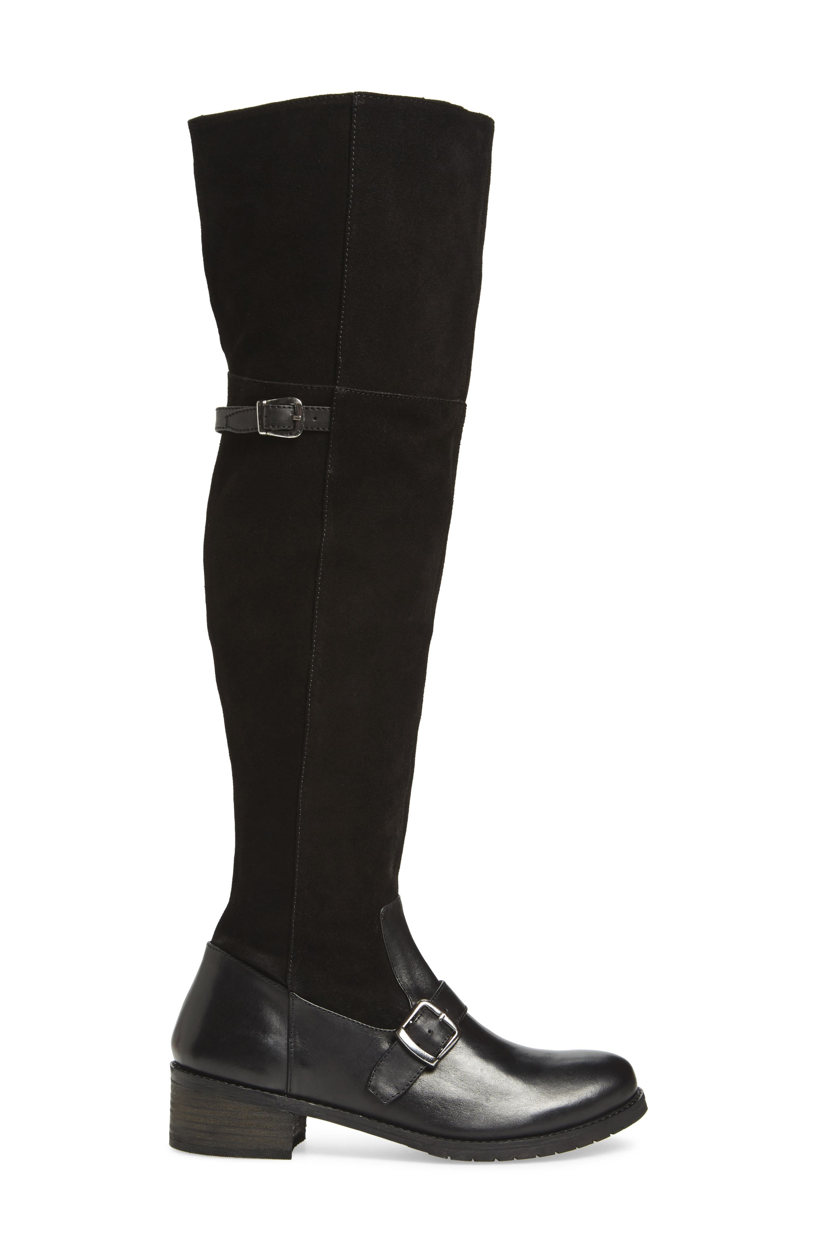 Lola Over the Knee Boot,                             Alternate thumbnail 3, color,                             017
