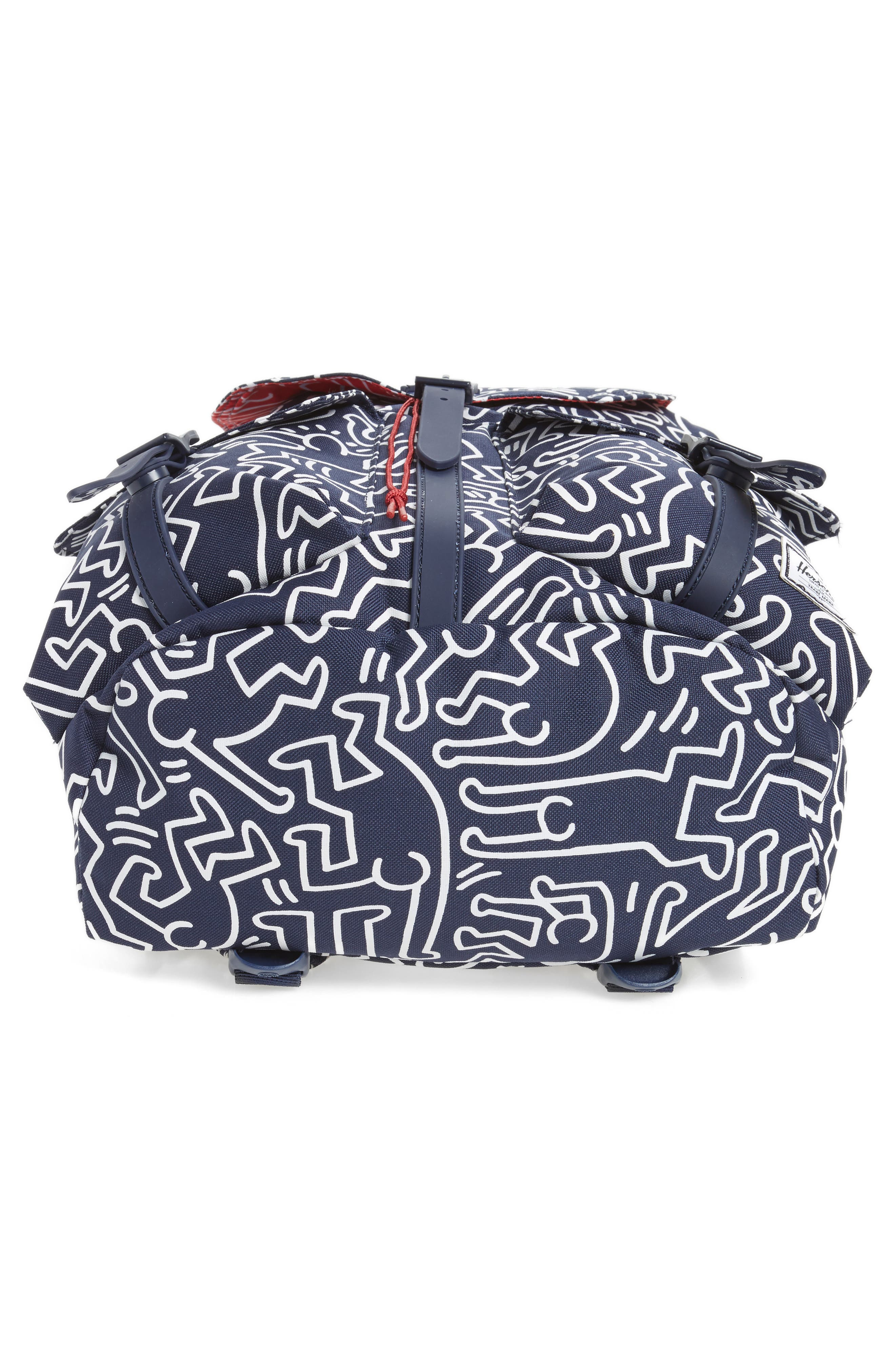 Dawson Keith Haring Backpack,                             Alternate thumbnail 6, color,                             477